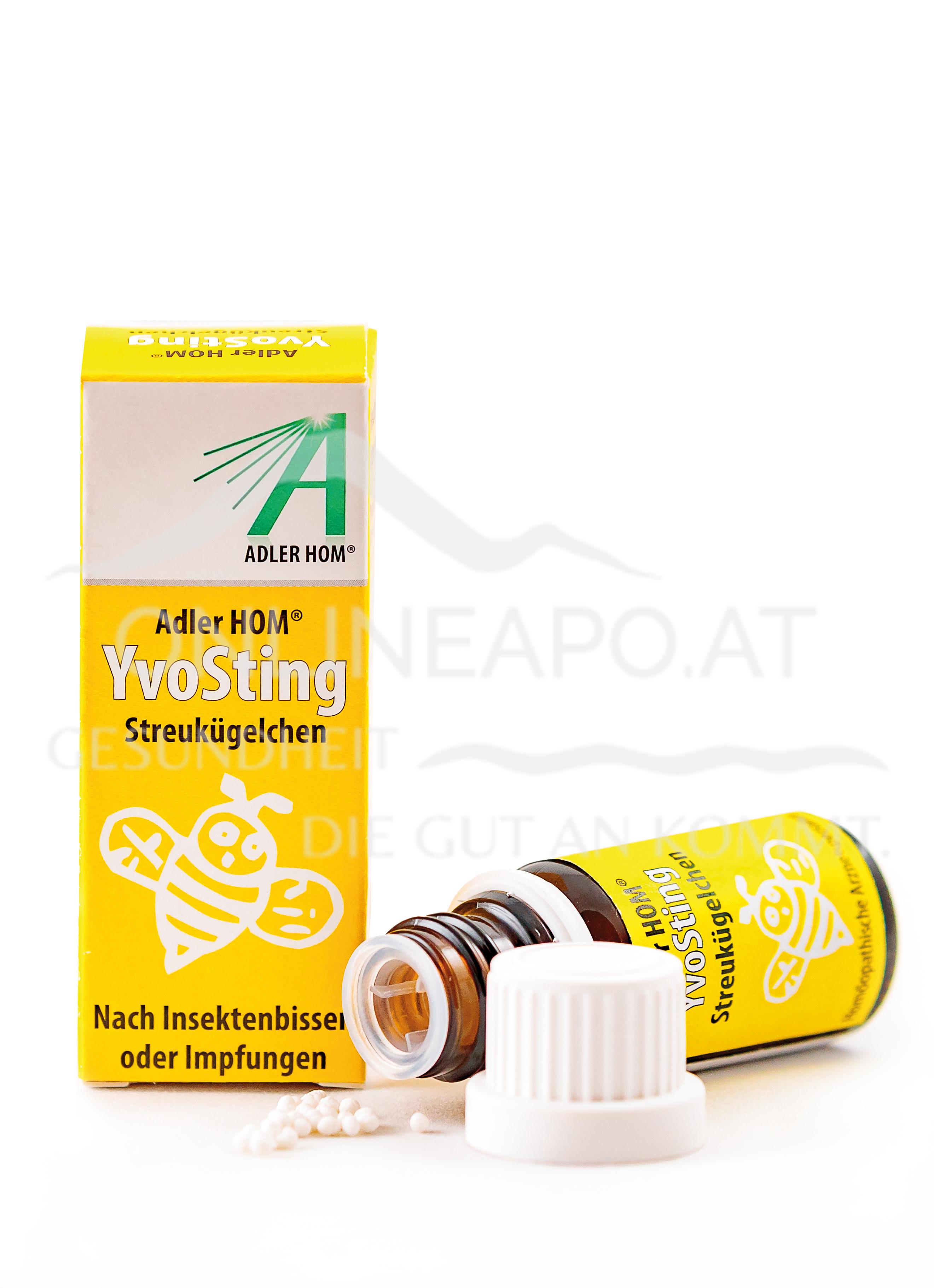 Adler Homöopathie YvoSting