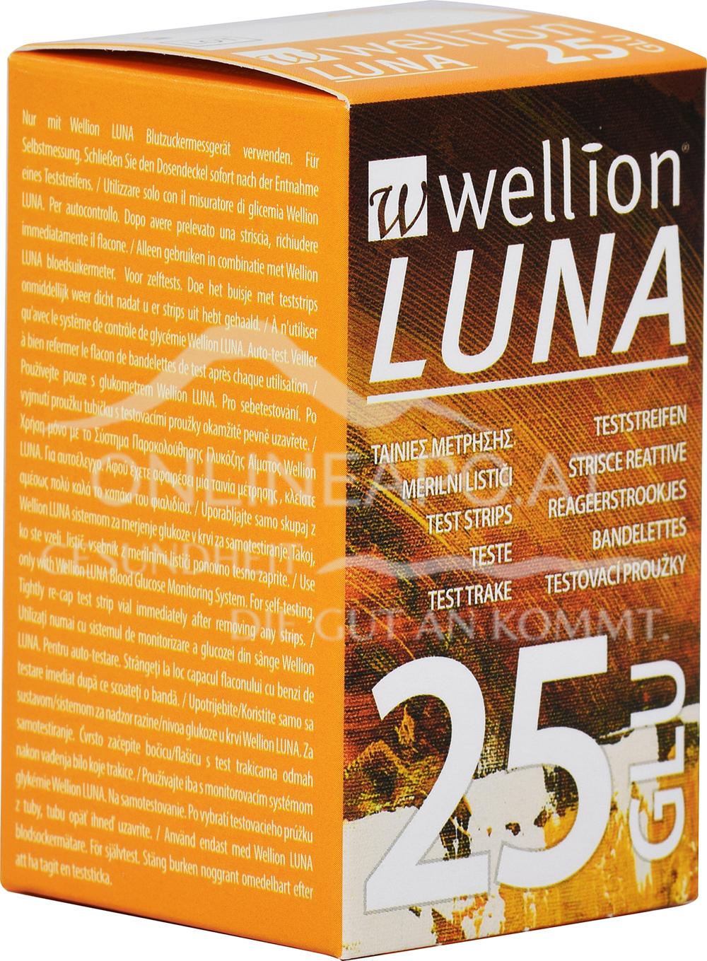 Wellion® LUNA Teststreifen GLU
