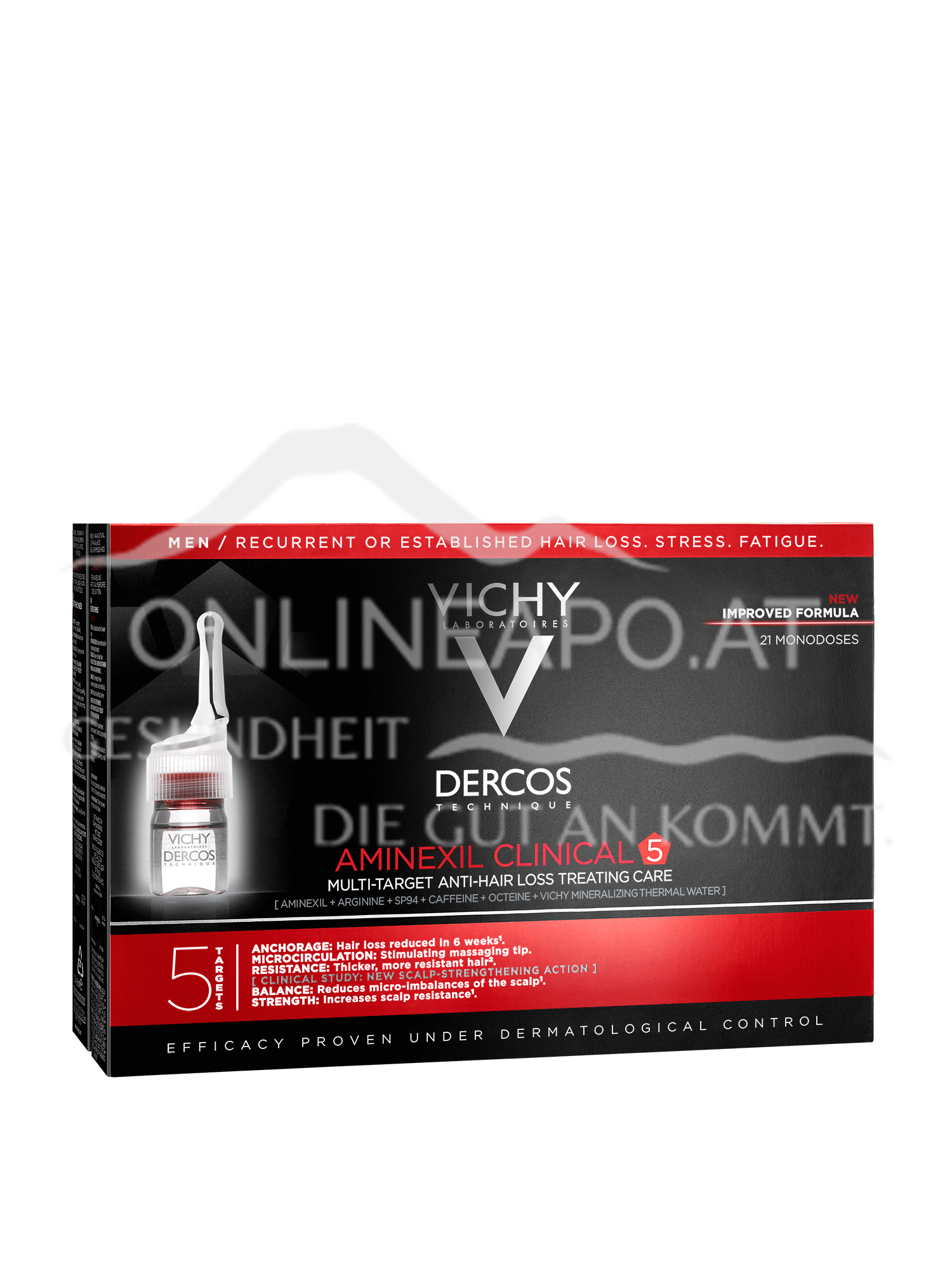 VICHY Dercos Aminexil Clinical 5 Männer 21x6 ml