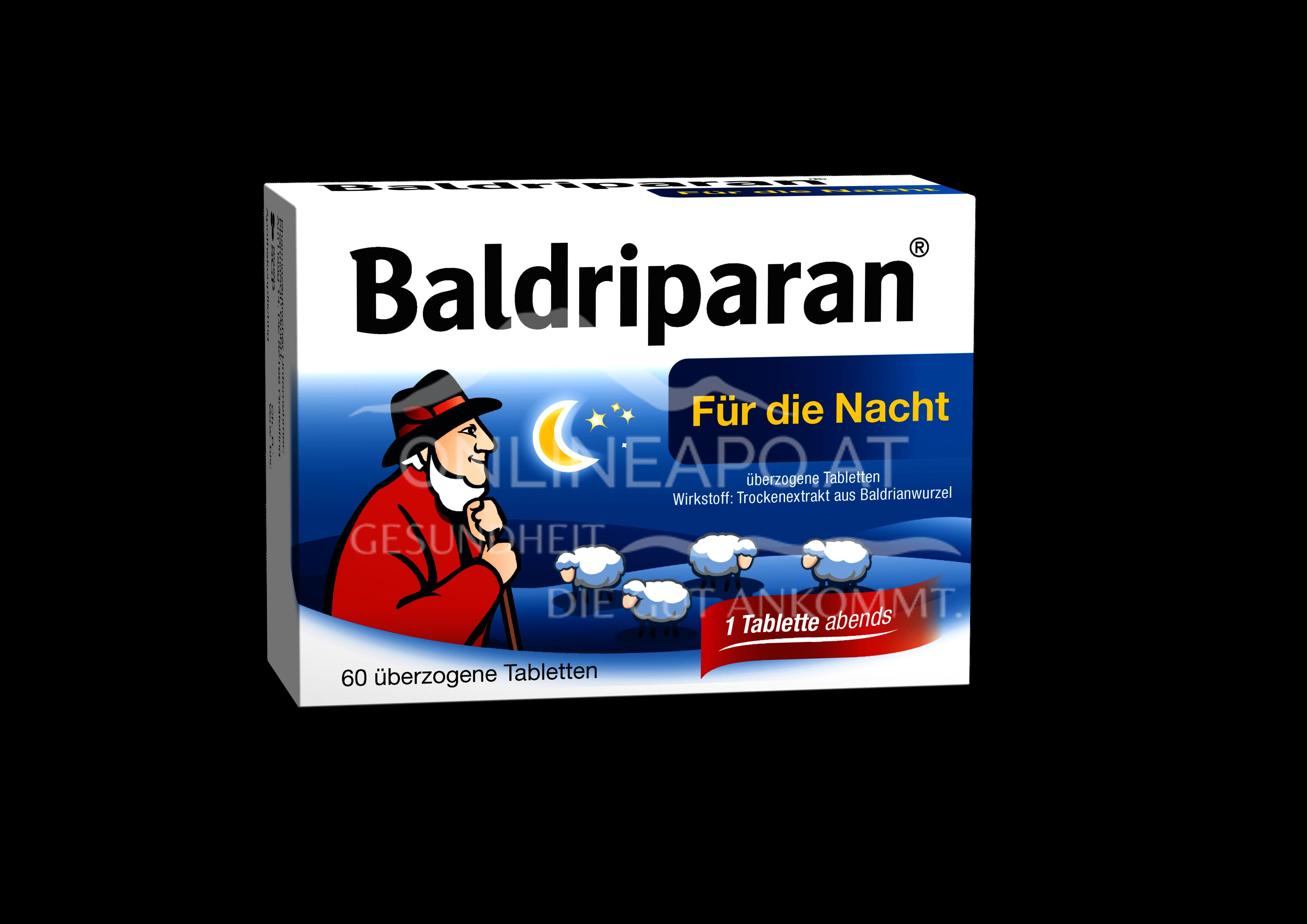 Baldriparan® Nacht Tabletten