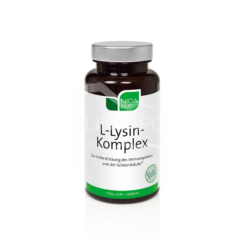 NICApur L-Lysin Komplex Kapseln