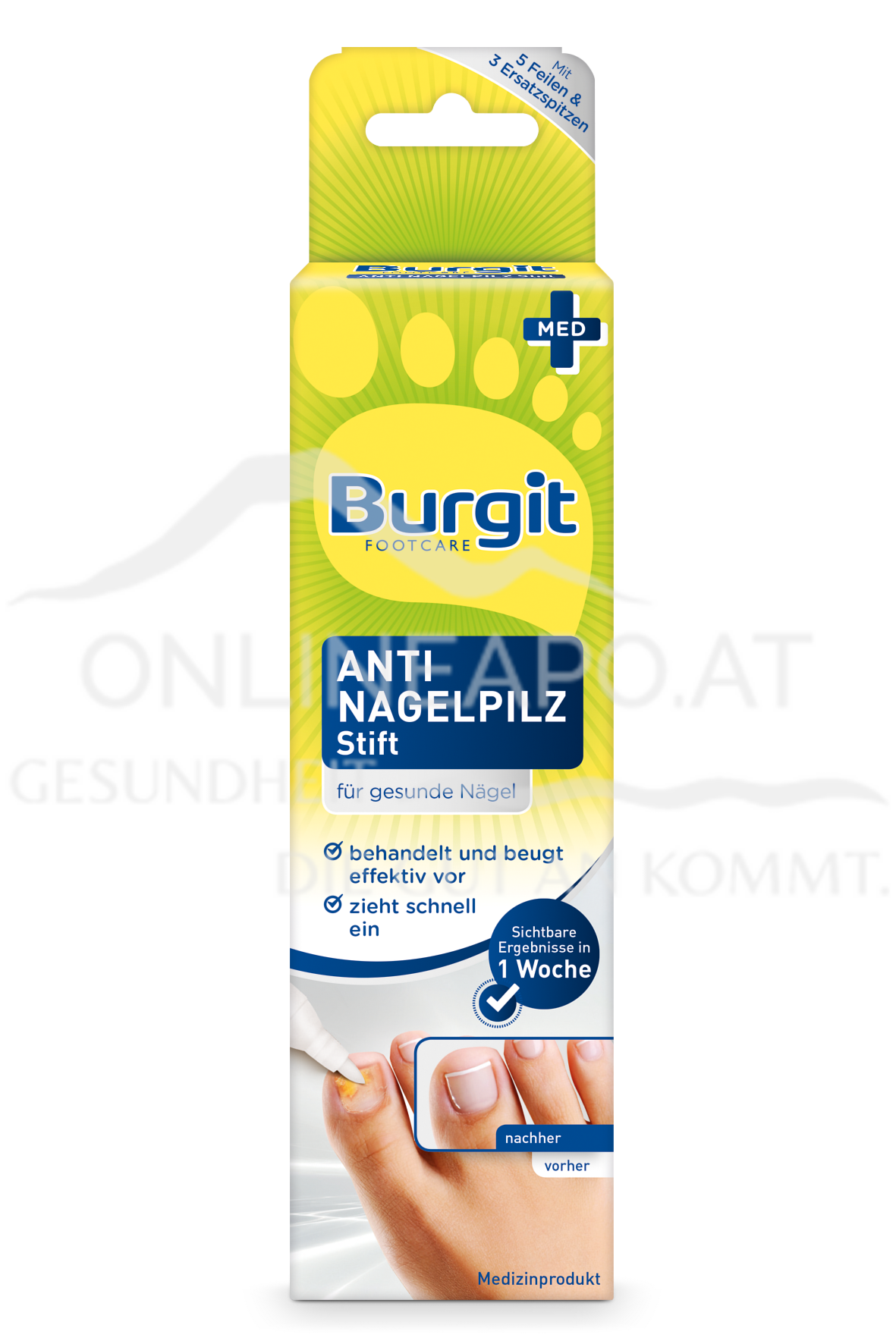 Burgit Anti Nagelpilz Stift