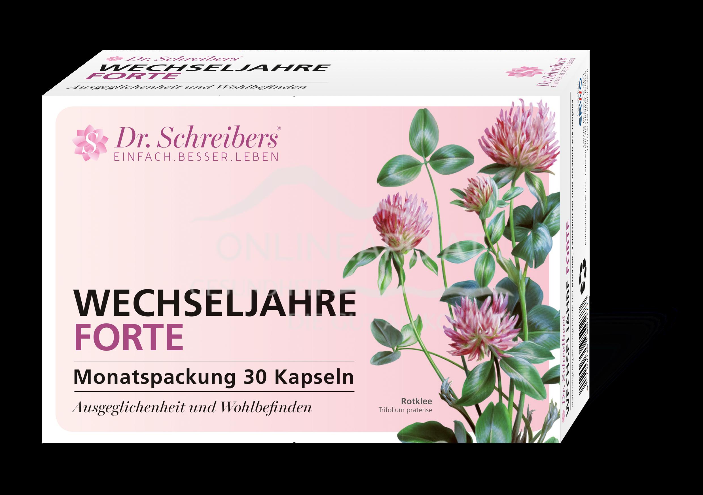 Dr. Schreibers Wechseljahre Forte Kapseln