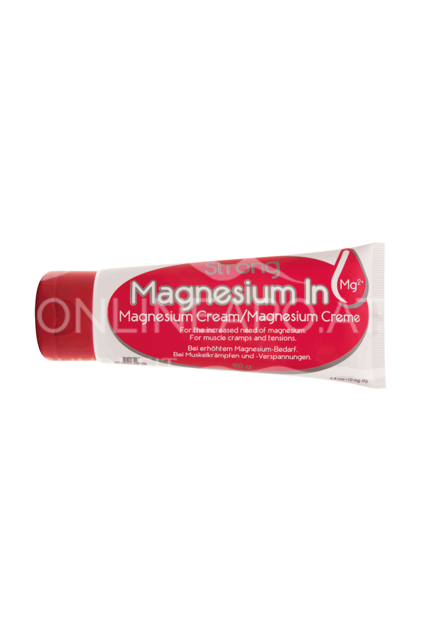 Ice Power® Magnesium In Strong Creme