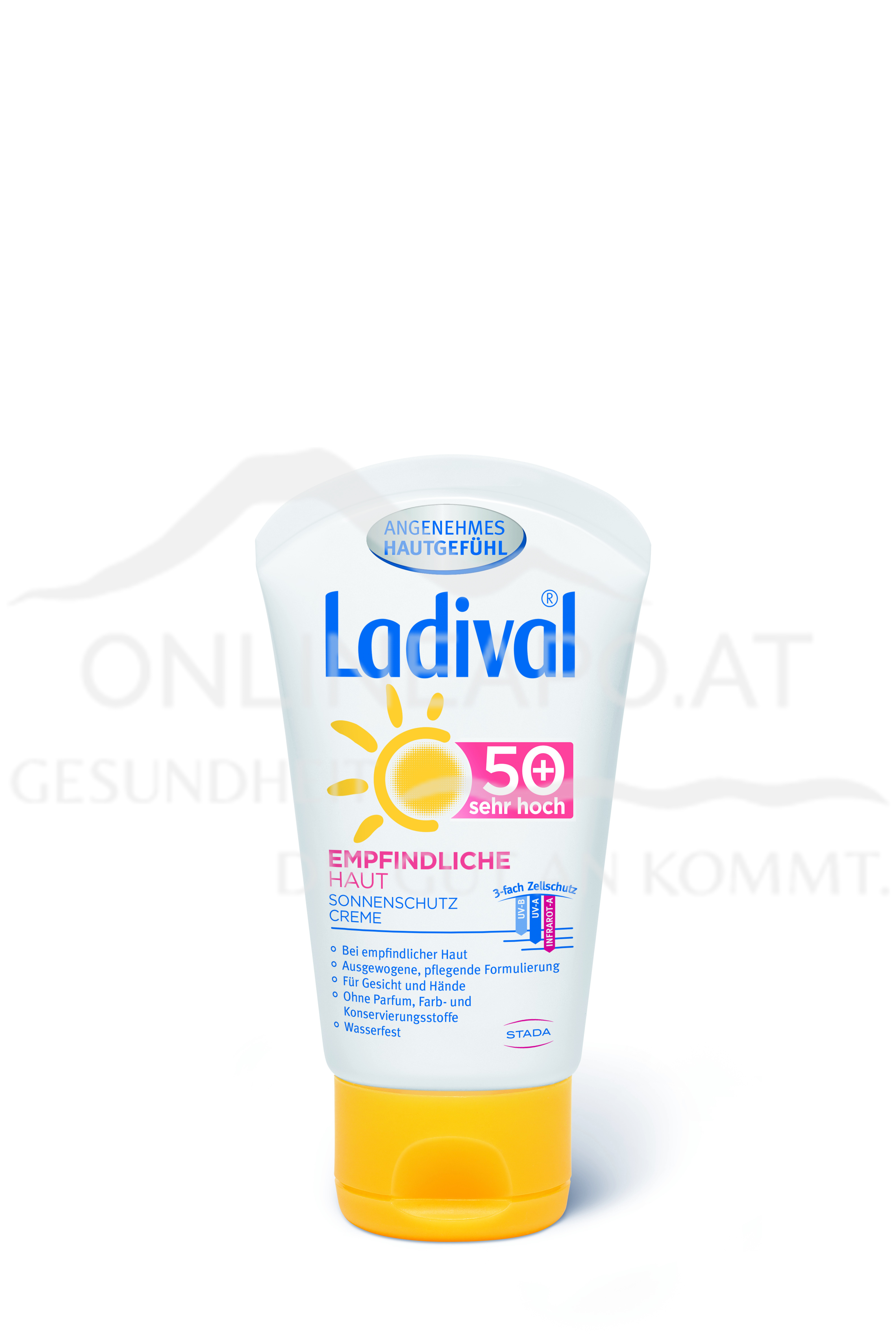 Ladival® Empfindliche Haut Sonnenschutz Creme Gesicht LSF 50 +