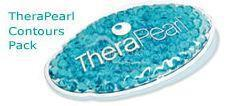TheraPearl Cool Oval blau