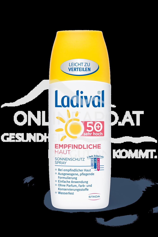 Ladival® Empfindliche Haut Sonnenschutz Spray LSF 50+