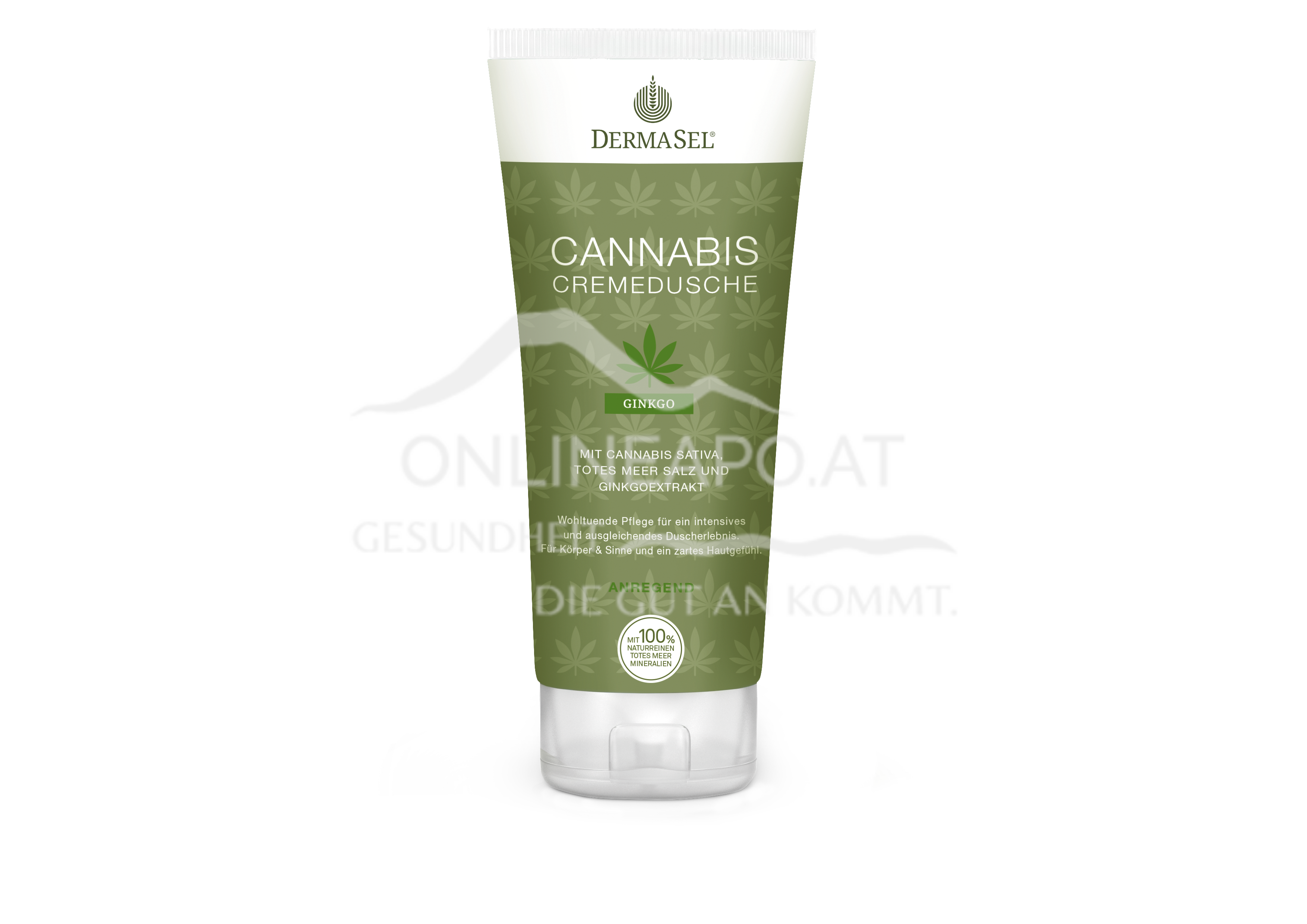 DermaSel® Cannabis Cremedusche Ginkgo