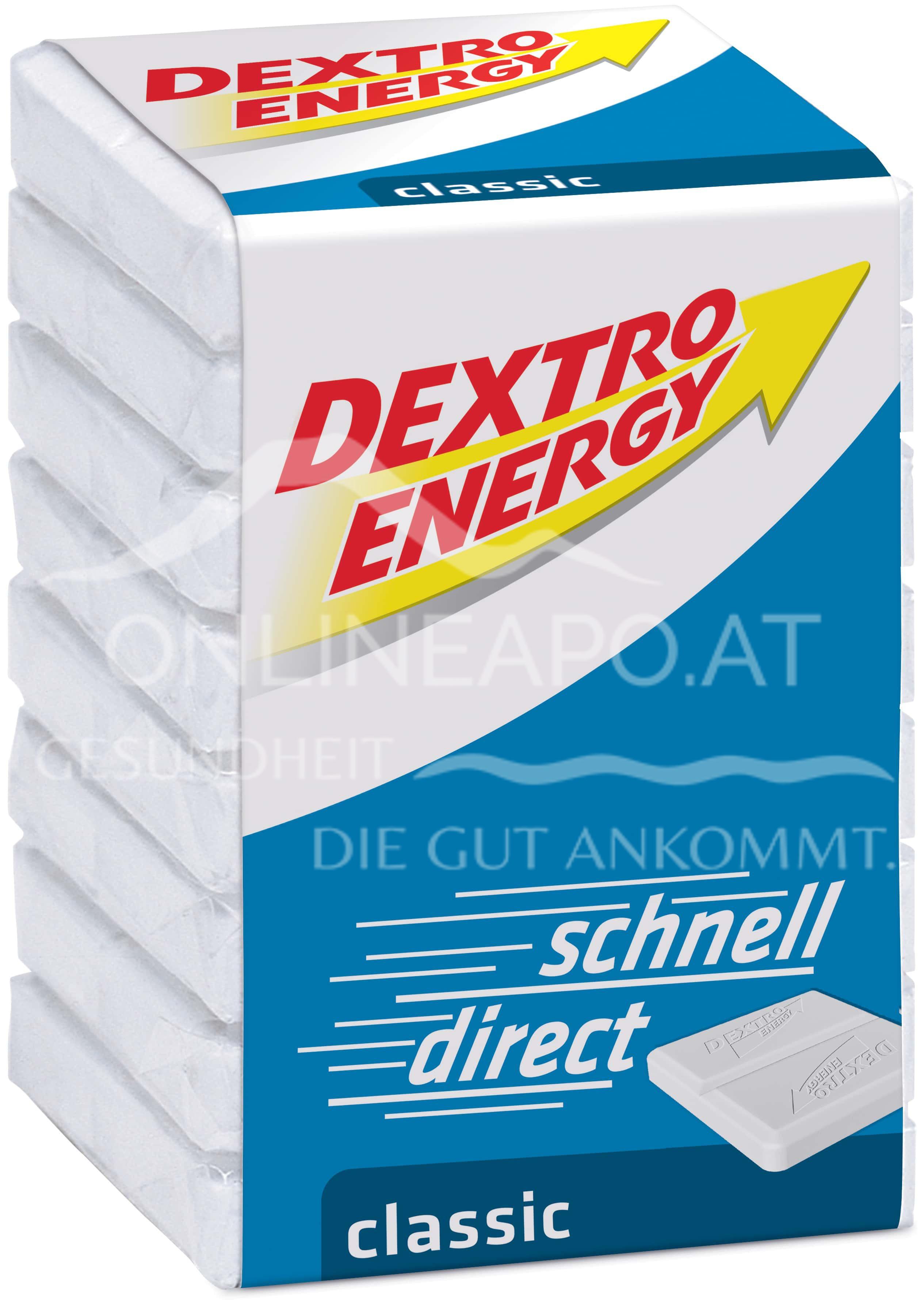 Dextro Energy Traubenzucker in Würfel 3x46 g