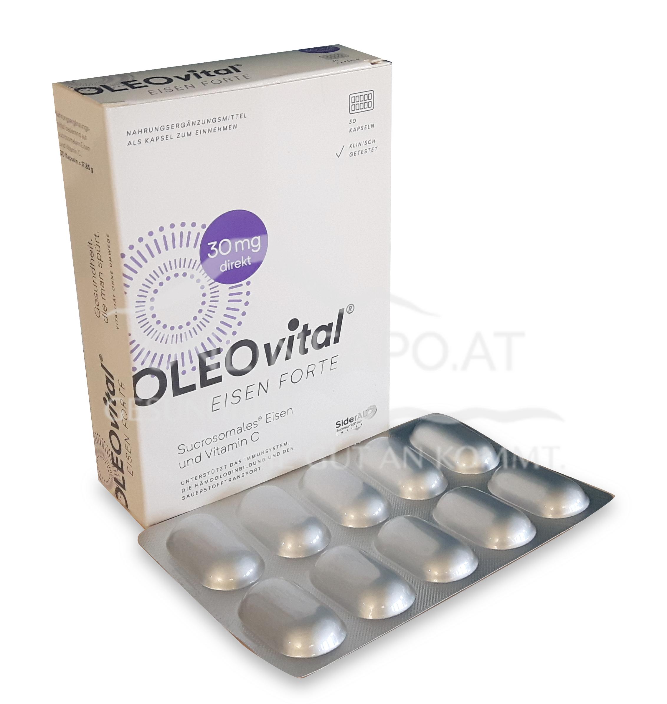 OLEOvital® EISEN FORTE  (30 mg Eisen) Kapseln