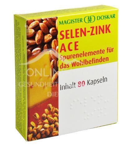 Doskar Selen-Zink ACE 80 Kapseln