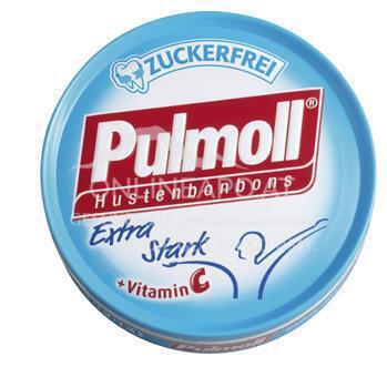Pulmoll Hustenbonbon extra stark zuckerfrei