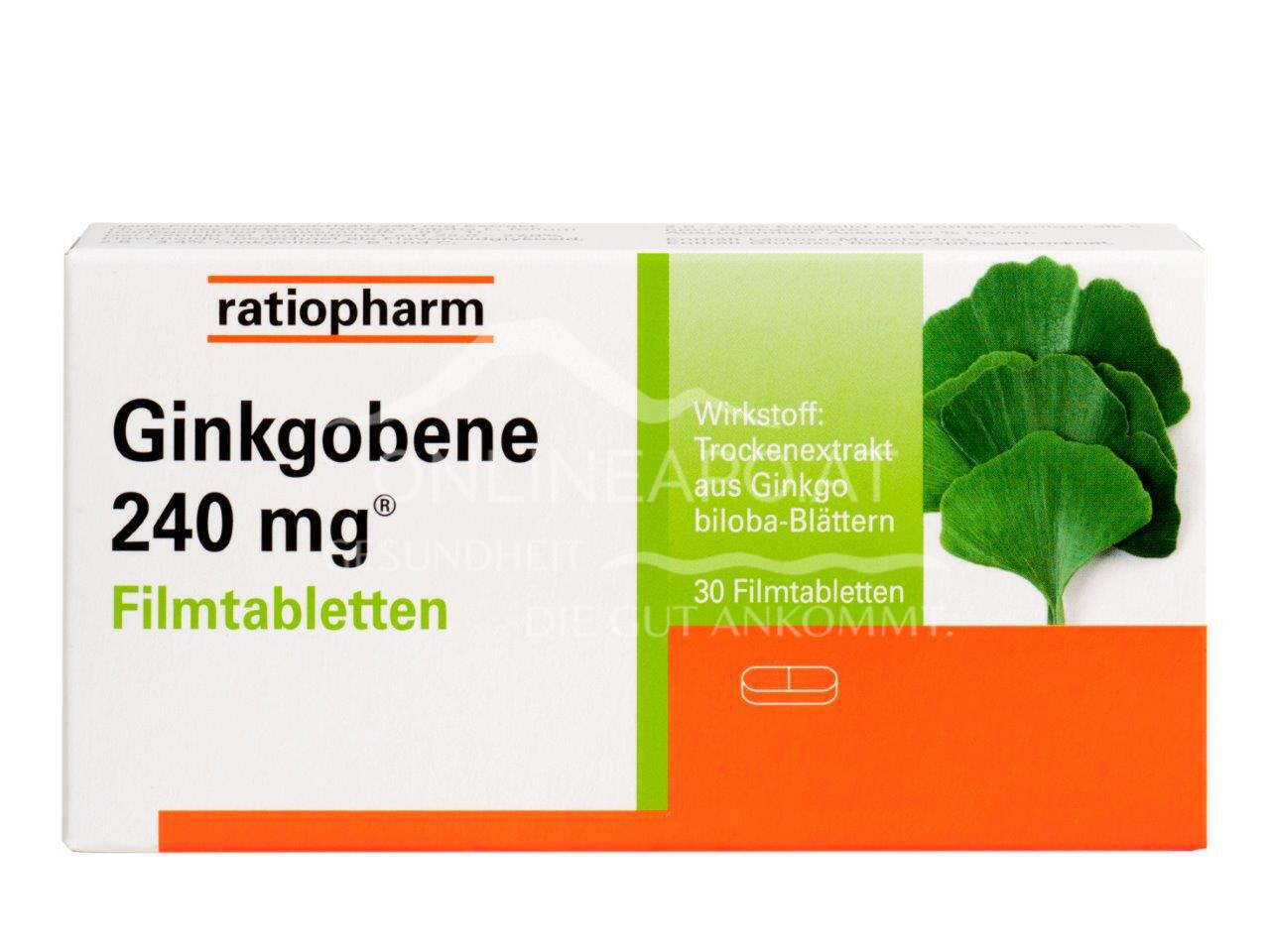 Ginkgobene 240mg® Filmtabletten
