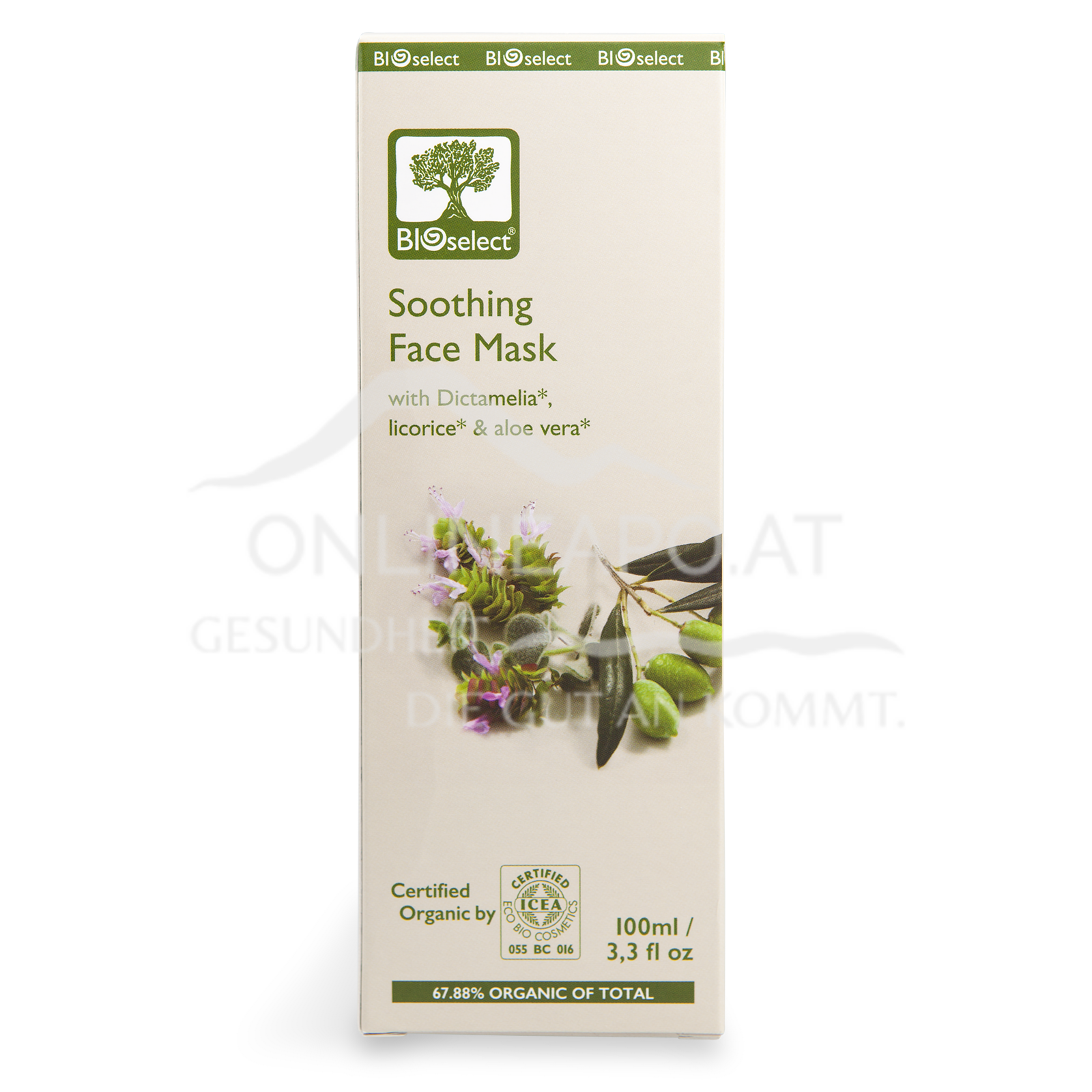 Bioselect Soothing Face Mask