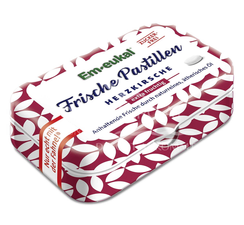 Em-eukal Frische Pastillen Herzkirsche zuckerfrei