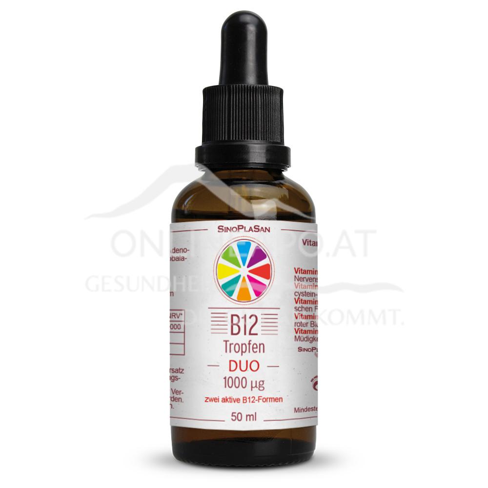 Sinoplasan Vitamin B12 Duo 1000mcg Tropfen