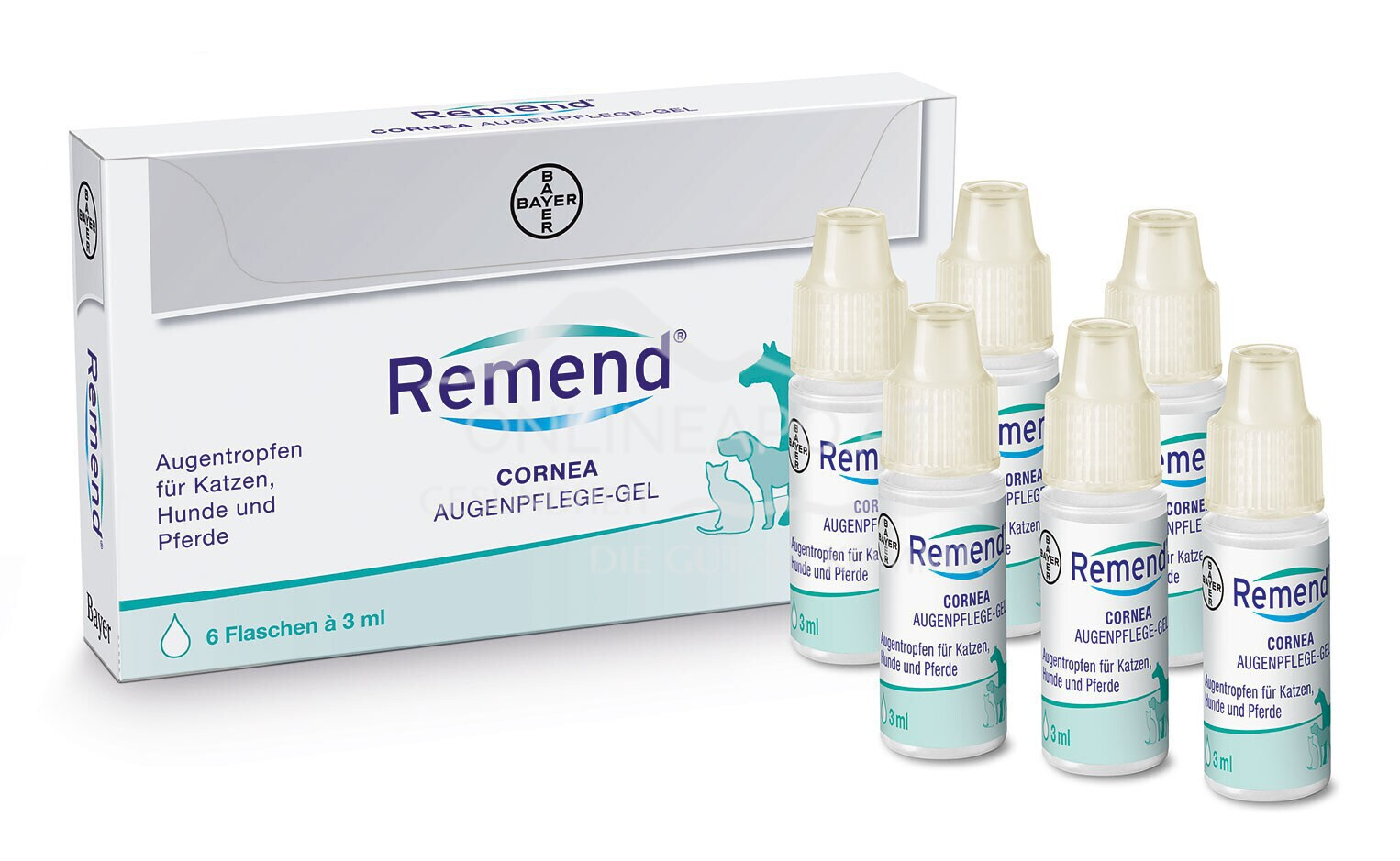 Remend® Cornea Augenpflege-Gel 6x3ml