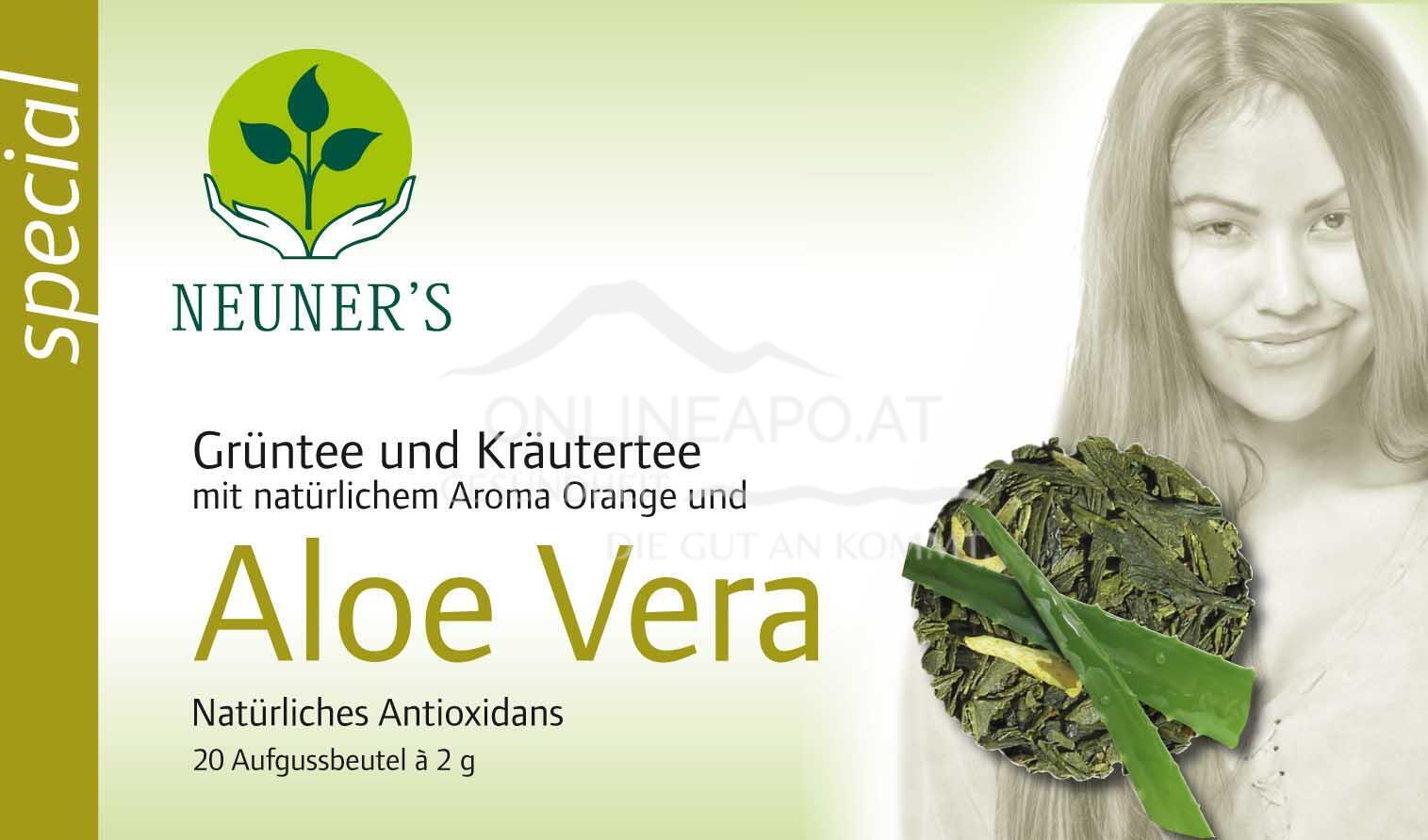 Neuner''sGrünteemischung mit Aloe Vera