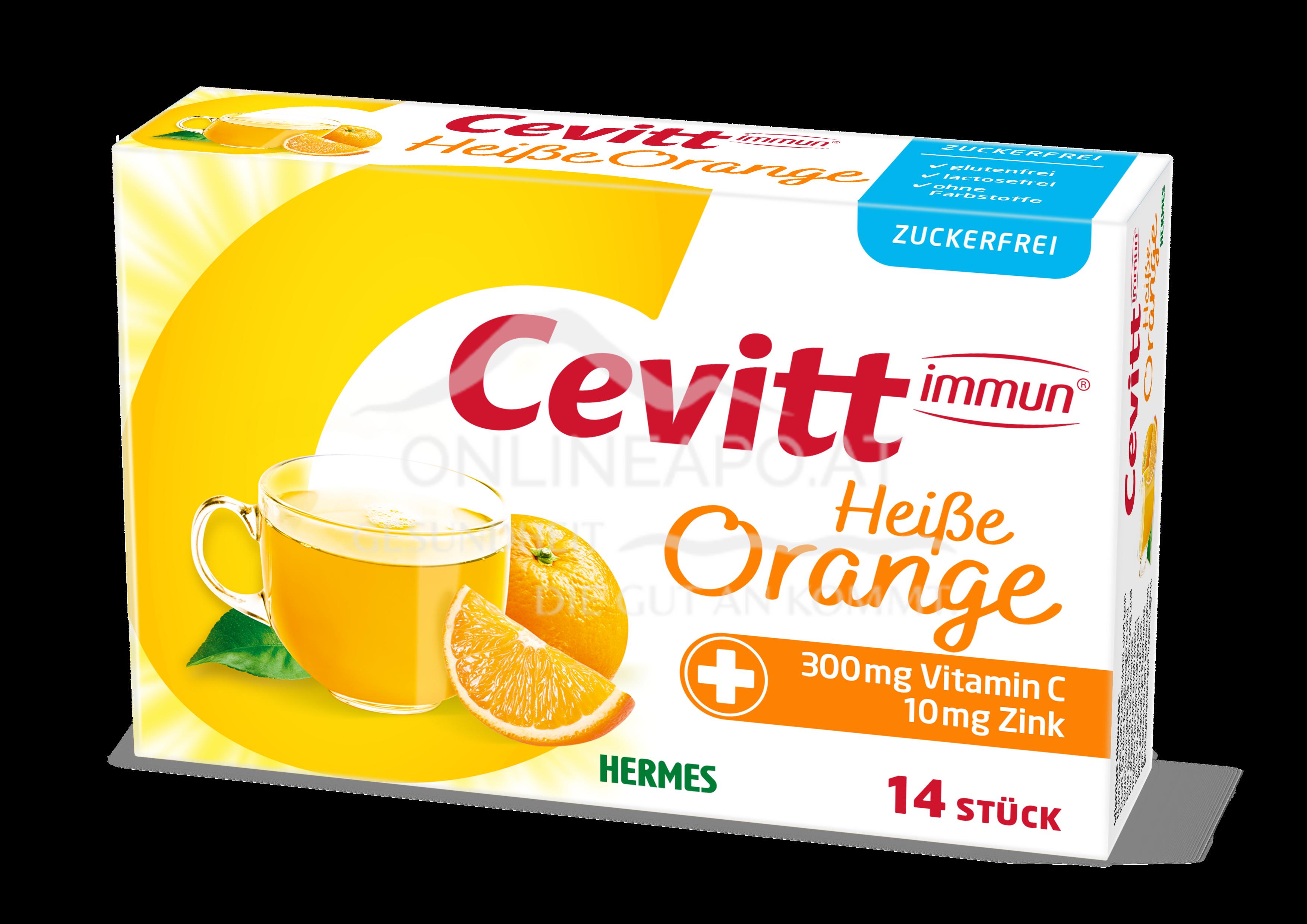 Cevitt immun® Heiße Orange zuckerfrei