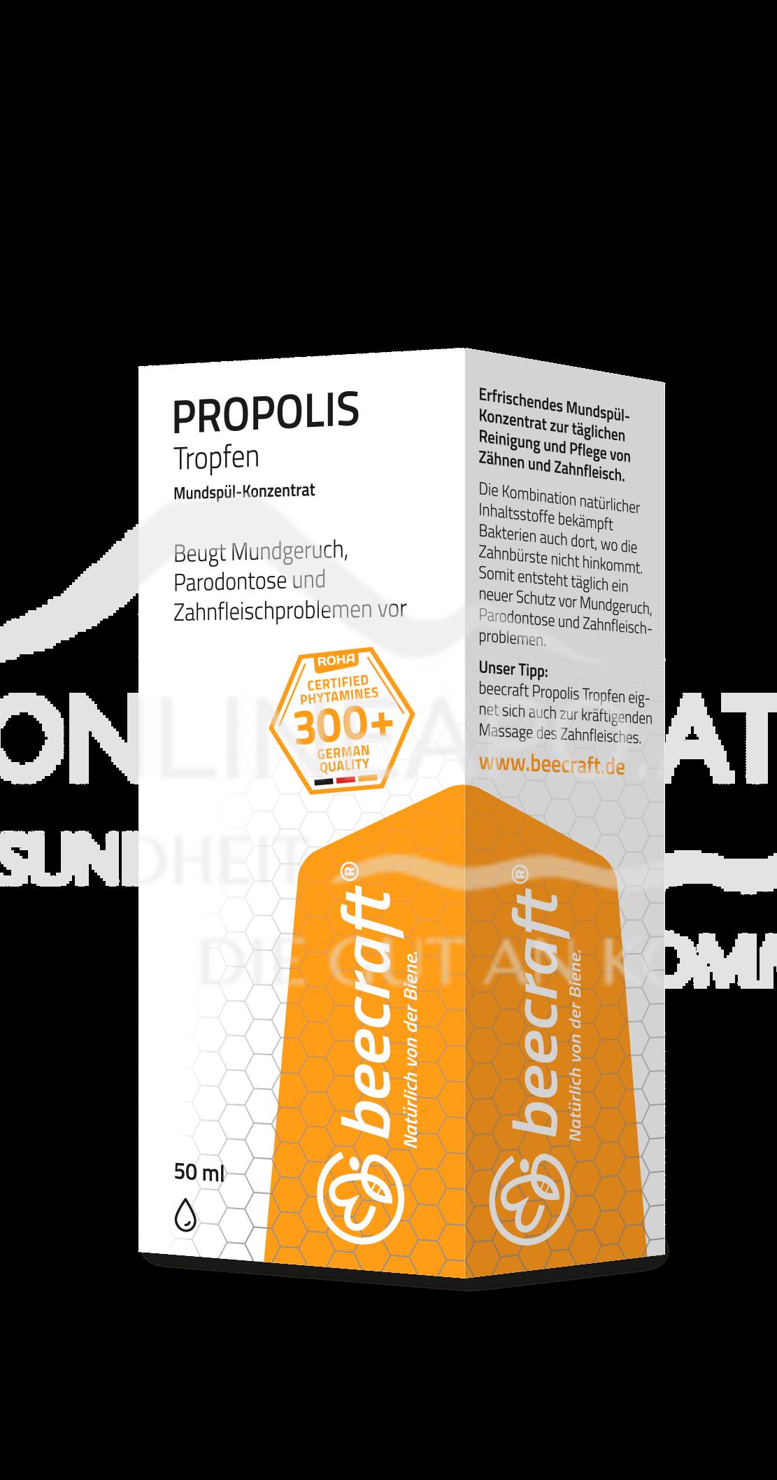 beecraft® Propolis Tropfen - Mundspül-Konzentrat