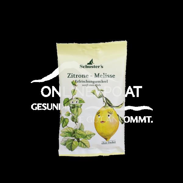 Schuster's Zitrone-Melisse Erfrischungszuckerl