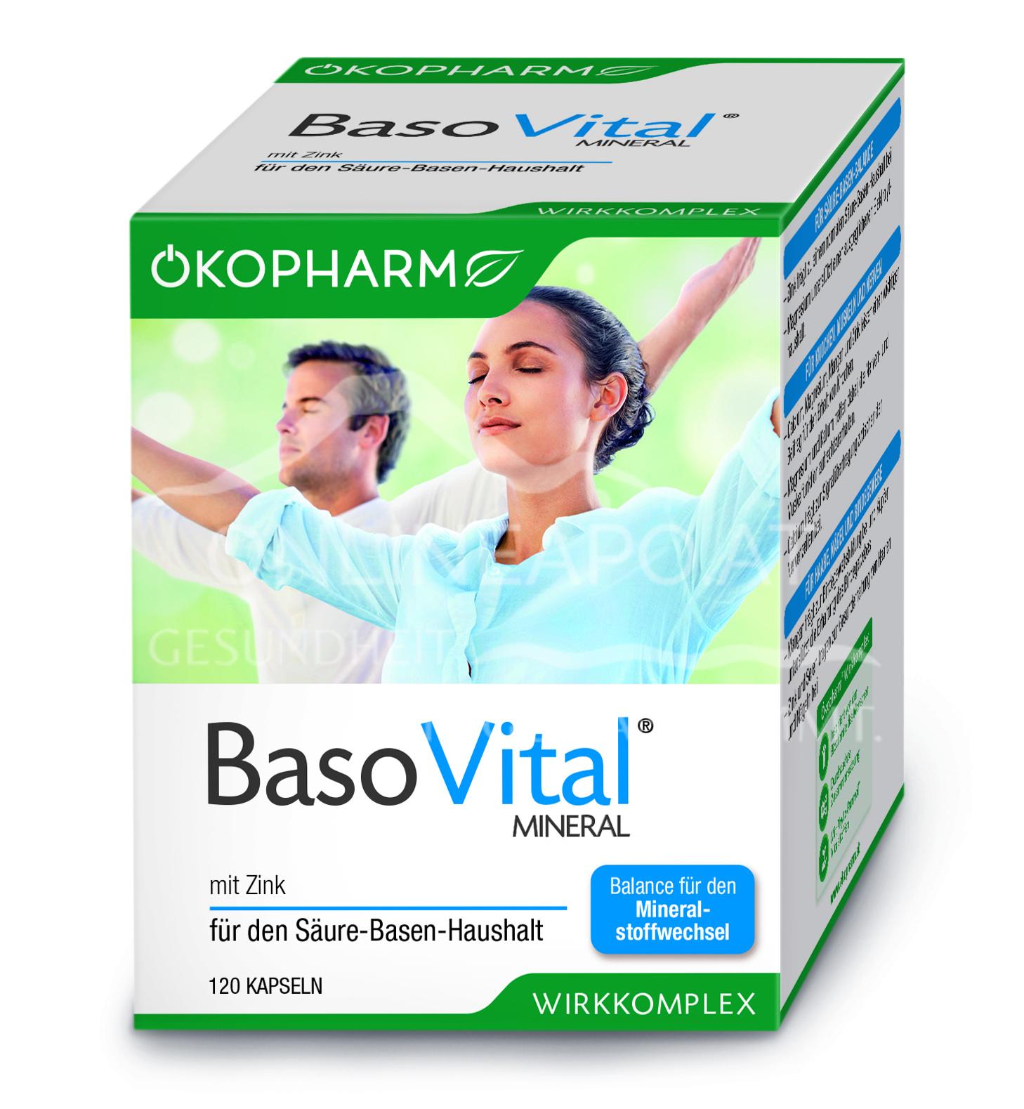 Ökopharm BasoVital® Mineral Kapseln