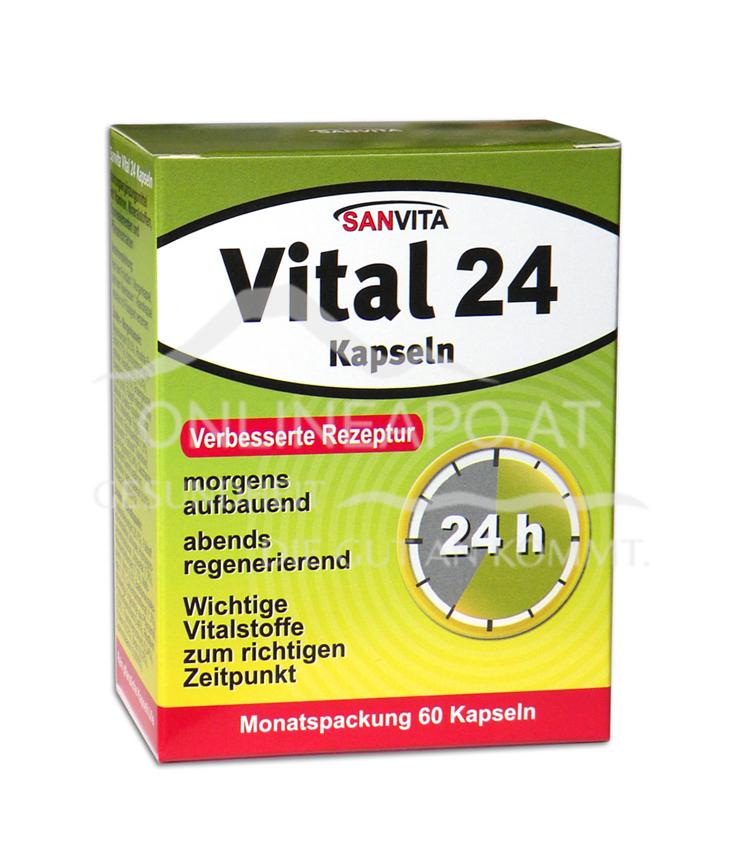 Sanvita Vital 24 Kapseln