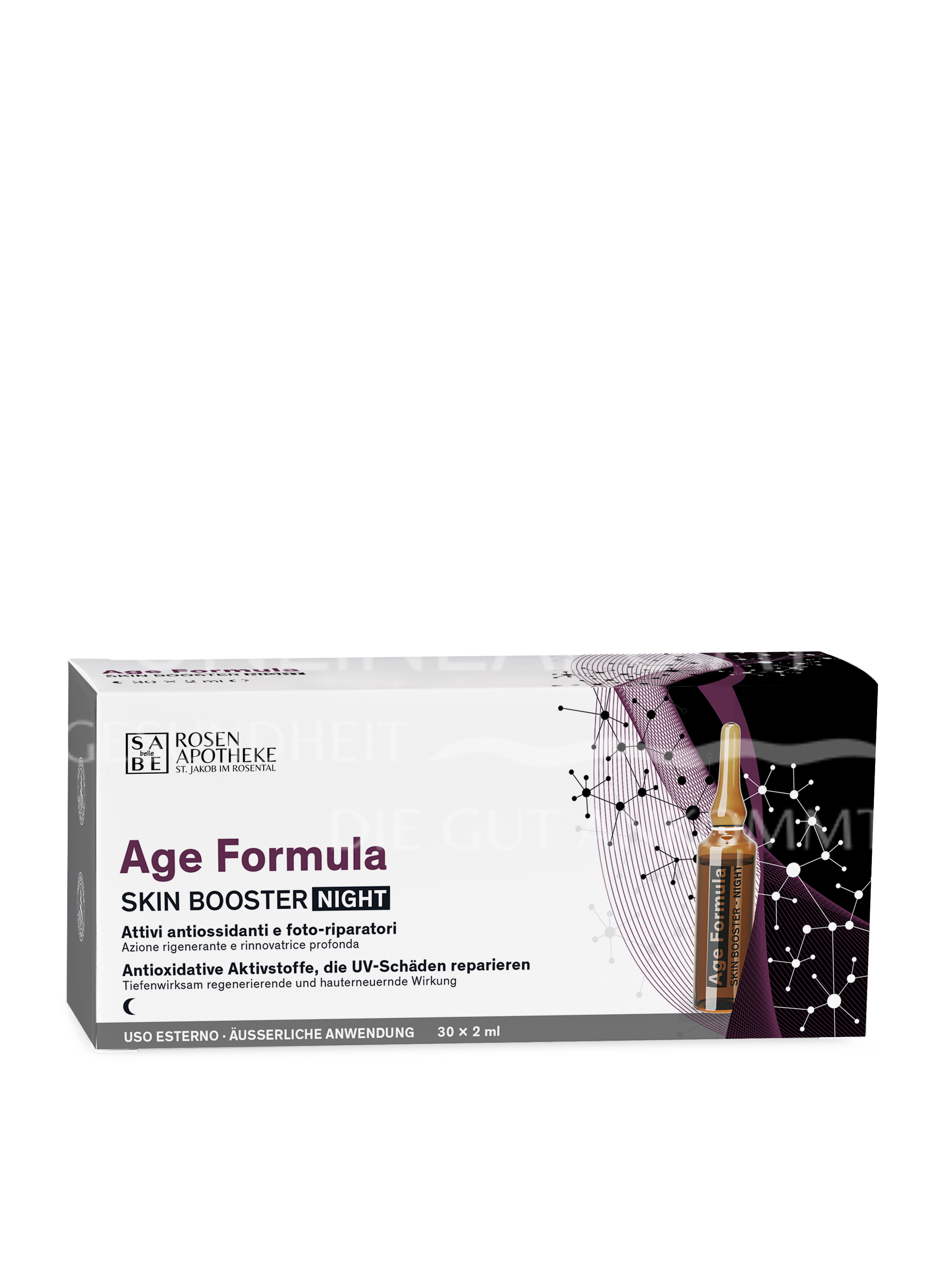 SABE belle Age Formula Skin Booster Night à 2 ml