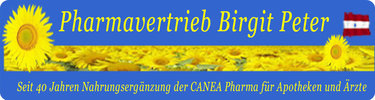 Pharmavertrieb Birgit Peter
