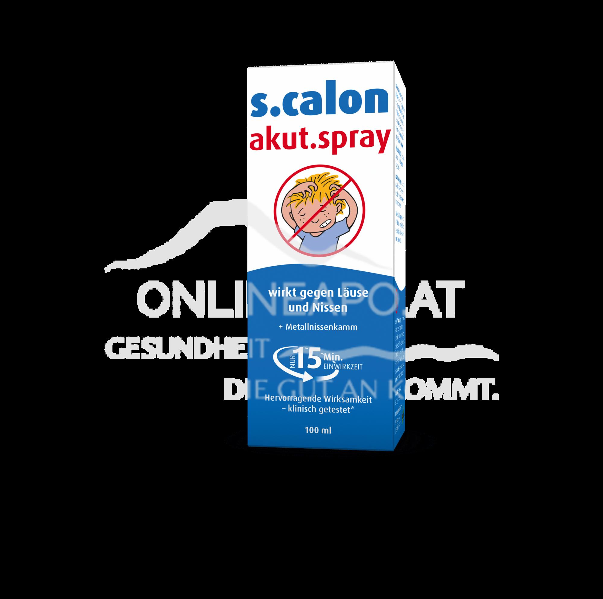 s.calon AKUT Spray mit Nissenkamm