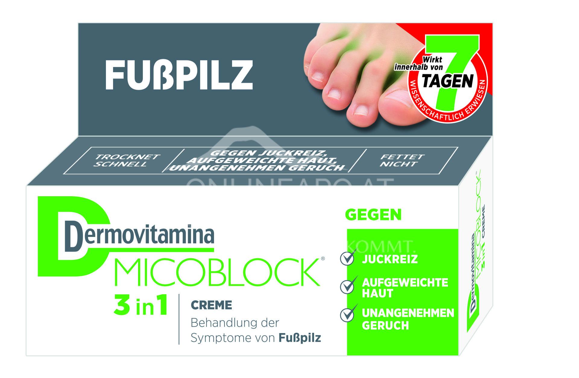 Dermovitamina Micoblock® 3 in 1 Creme