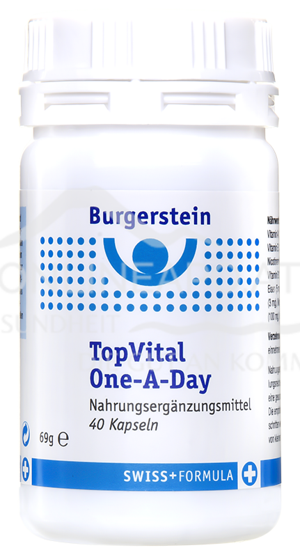 Burgerstein TopVital One-A-Day