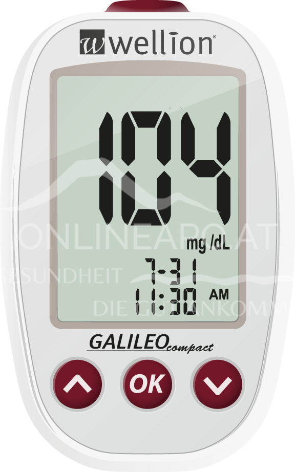 Wellion® GALILEO Compact Weiß