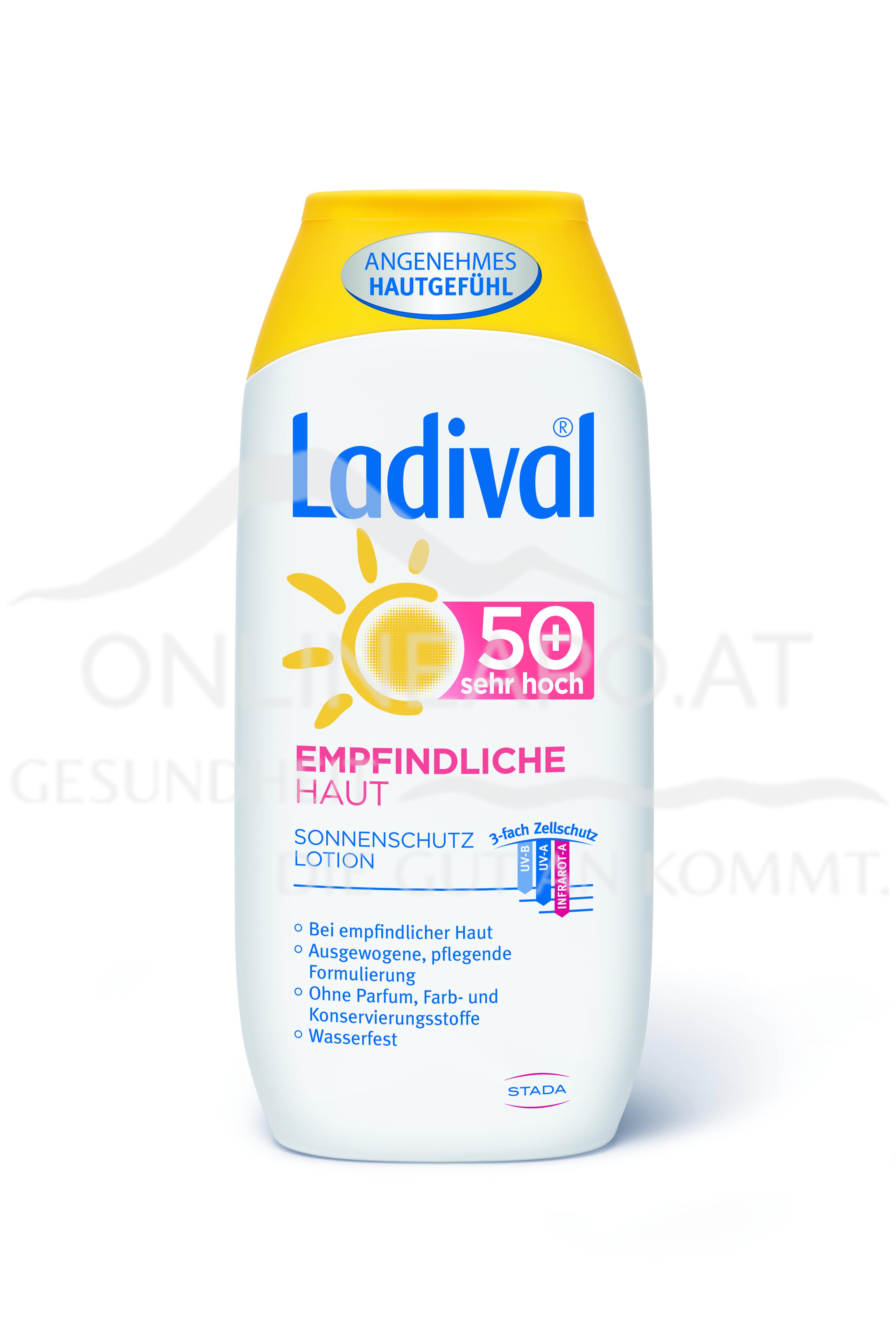 Ladival® Empfindliche Haut Sonnenschutz Lotion LSF 50+