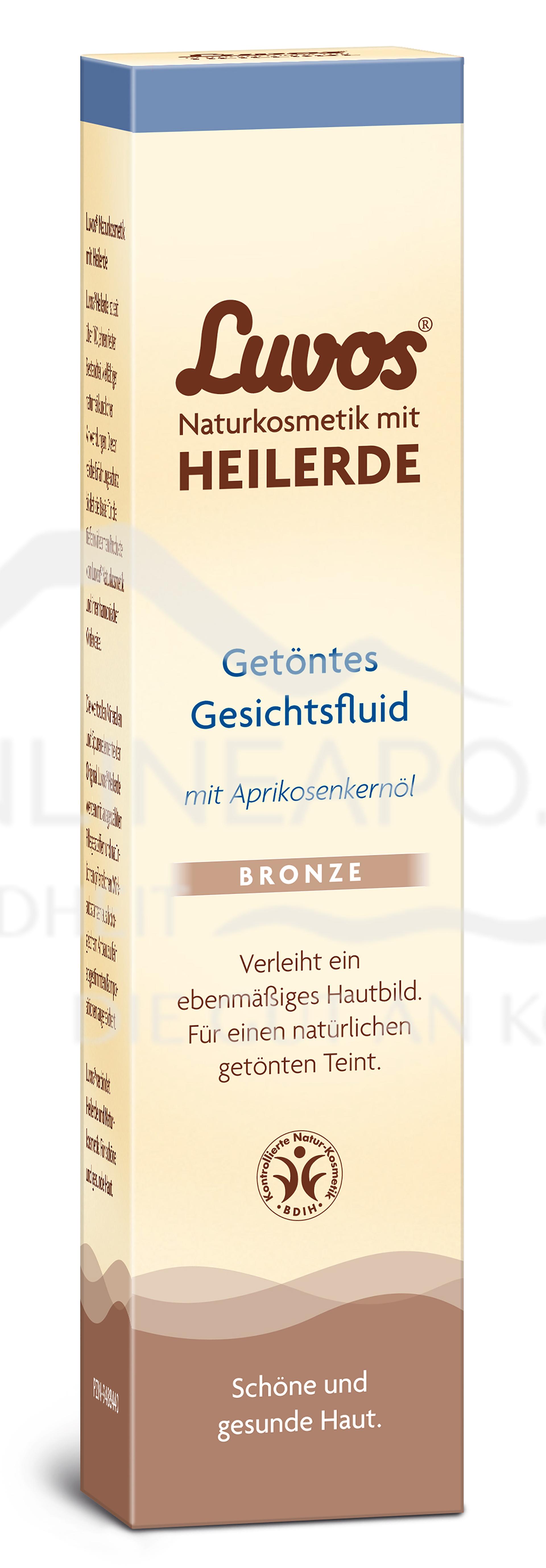Luvos Heilerde Gesichtsfluid Bronze
