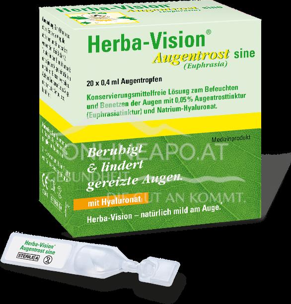 Herba-Vision® Augentrost sine Einzeldosen Augentropfen