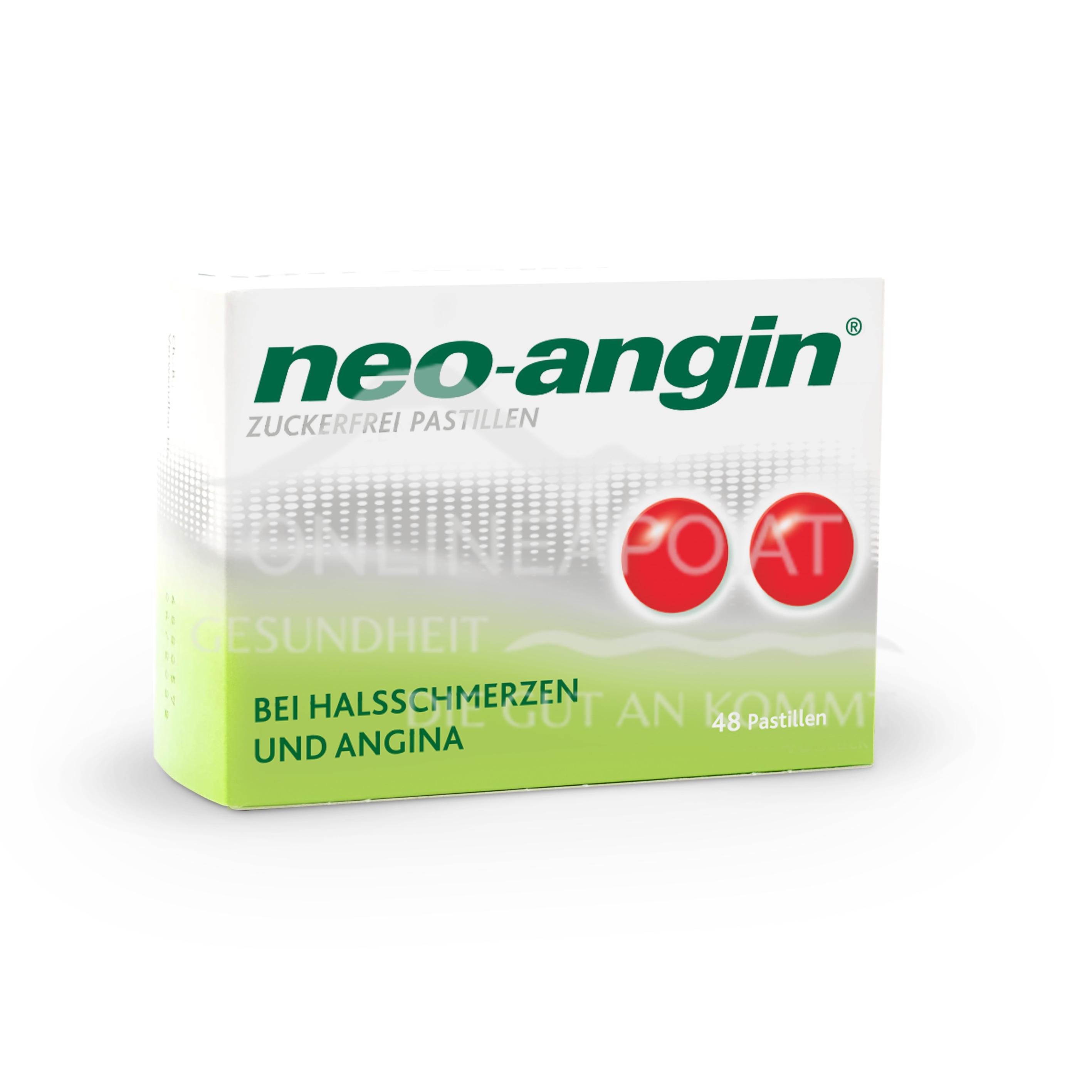 neo-angin® zuckerfrei Pastillen