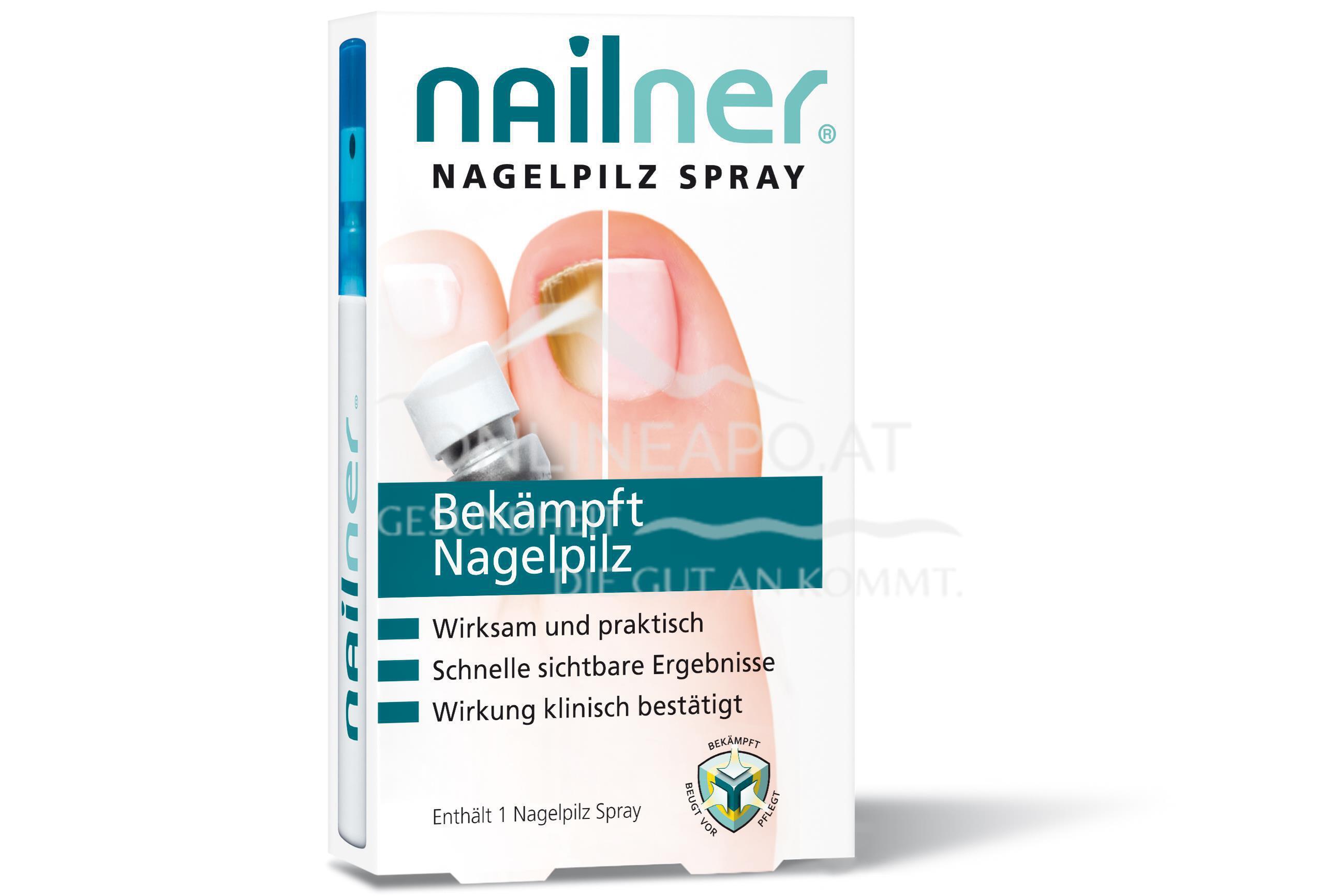 Nailner Nagelpilz Spray