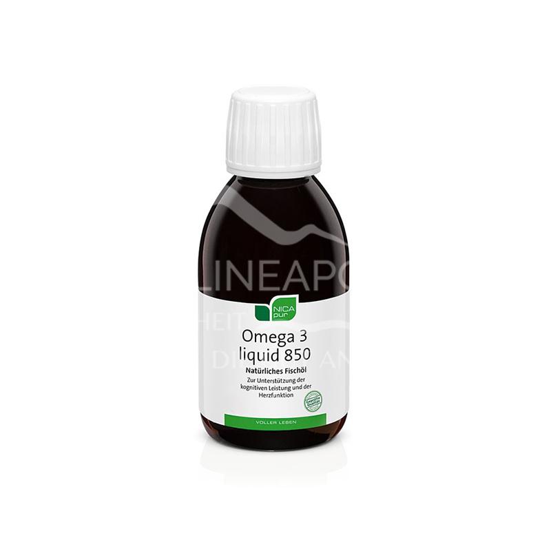 NICApur Omega 3 liquid 850