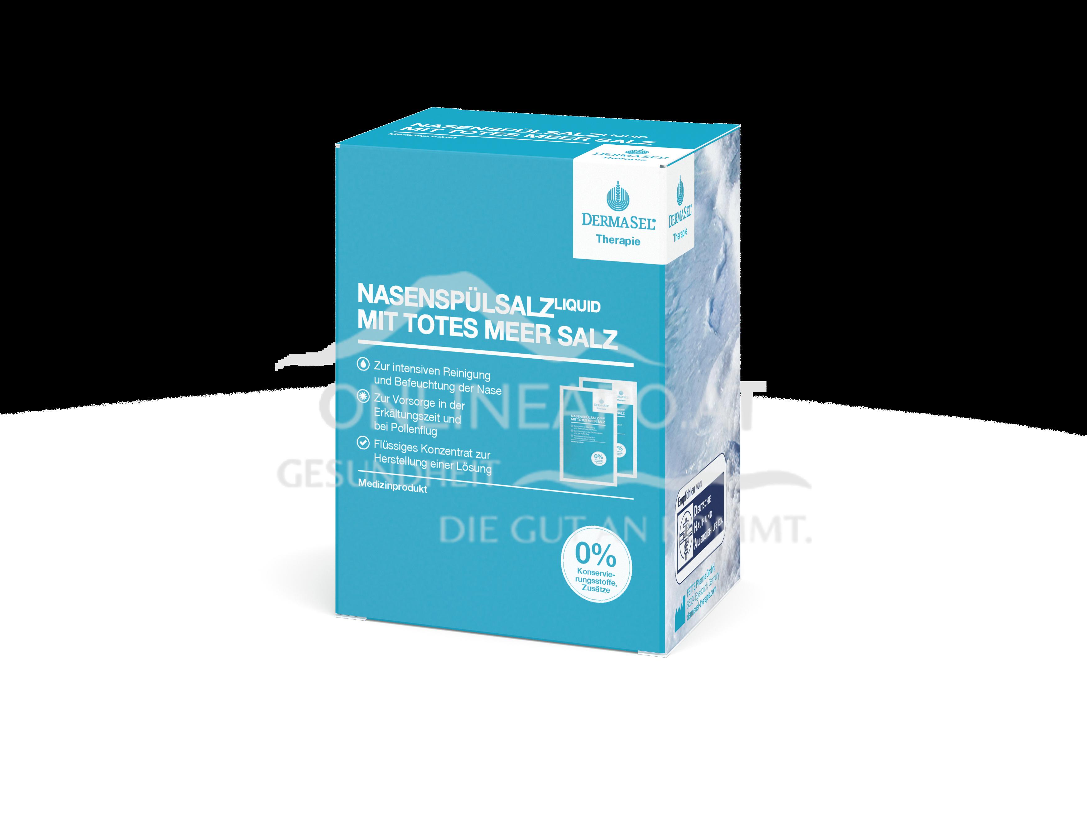 DermaSel® Therapie NasenspülsalzLIQUID