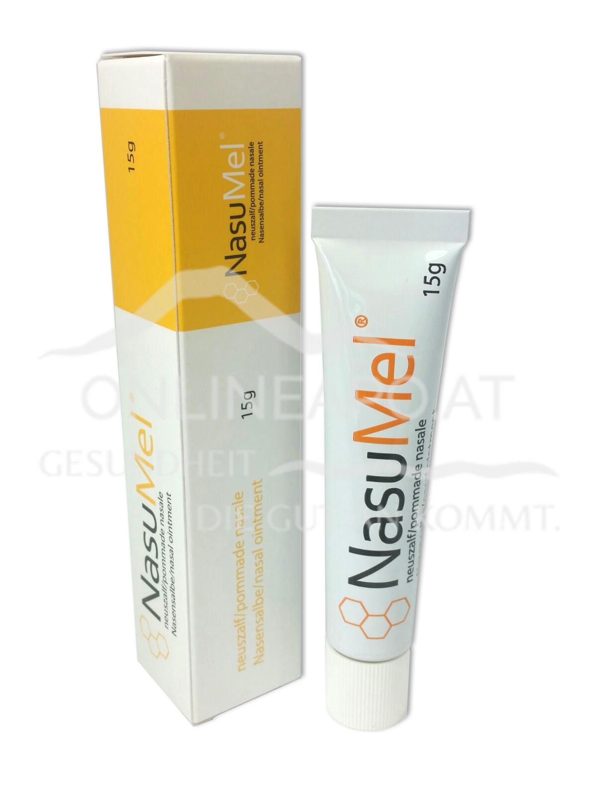 NasuMel® Nasensalbe (Medizinal-Honig zur Wundbehandlung)
