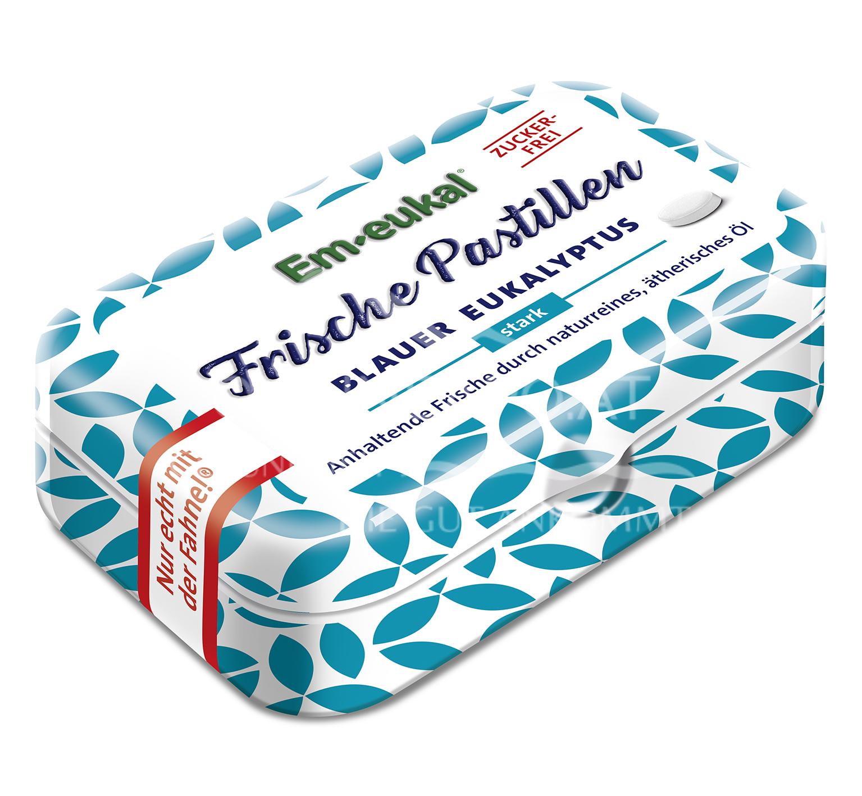 Em-eukal Frische Pastillen Blauer Eukalyptus zuckerfrei