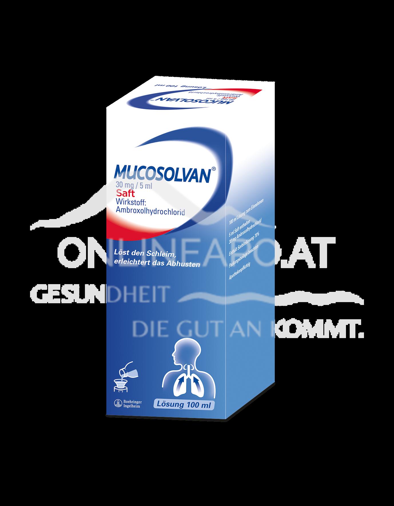 Mucosolvan®30mg/5ml- Saft