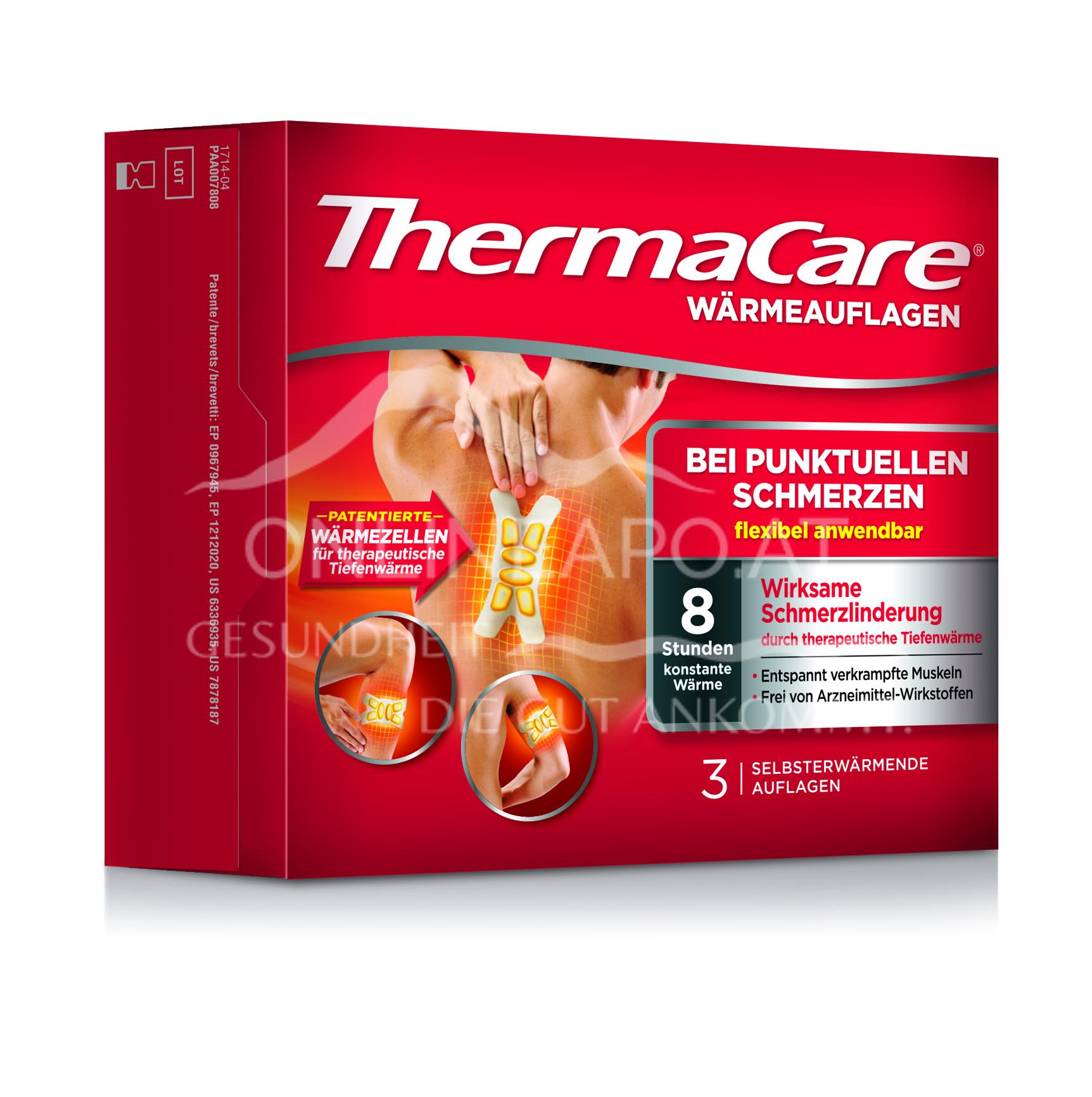 ThermaCare® Wärmeauflagen für flexible Anwendung