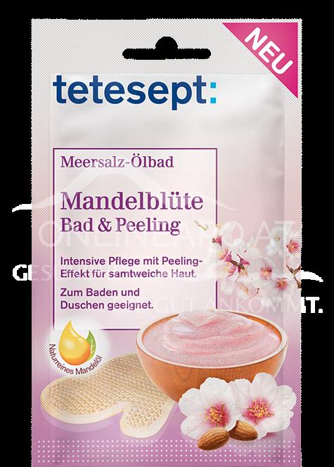 tetesept Ölbad & Peeling Meersalz Mandelblüte