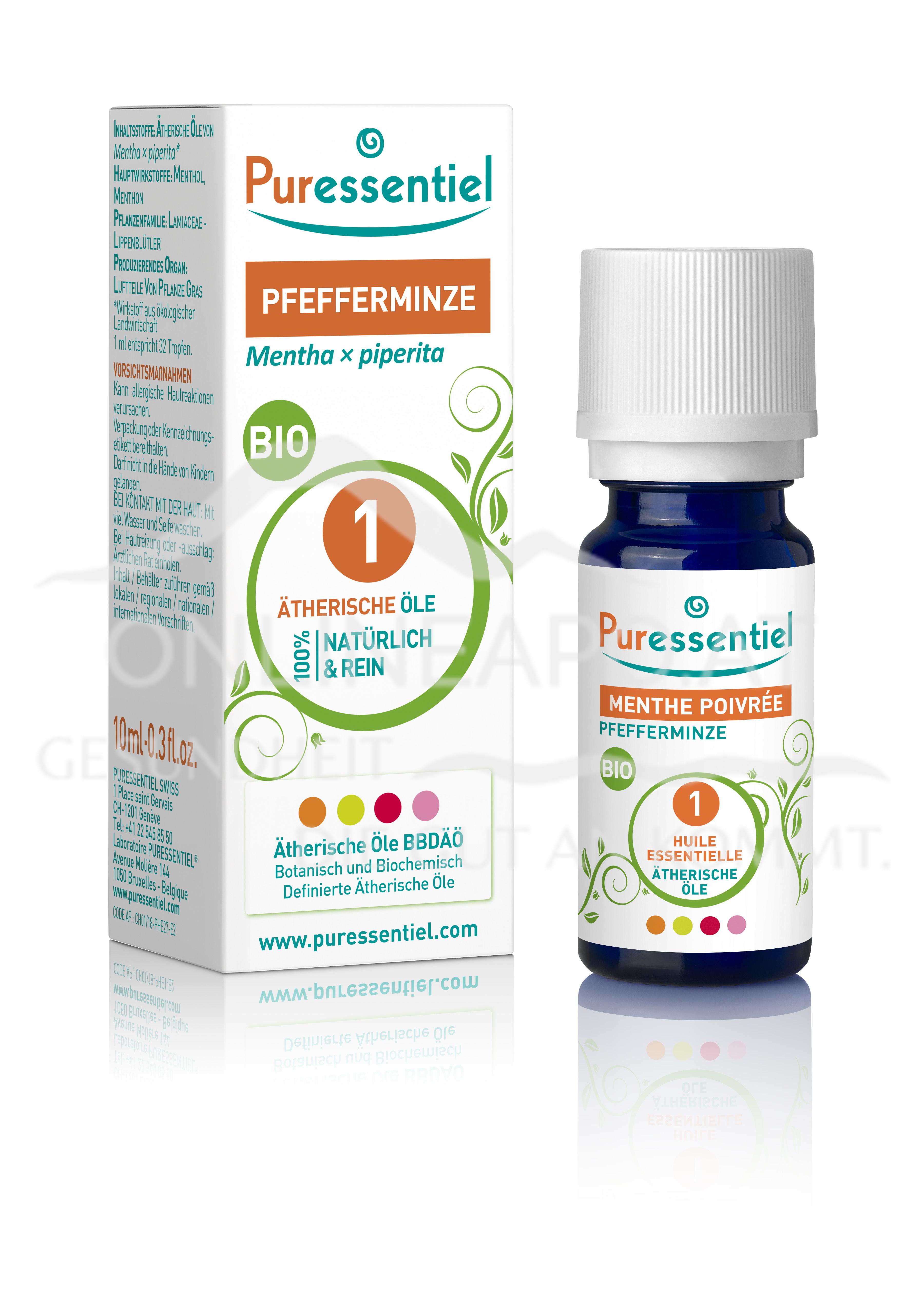 Puressentiel Pfefferminze Bio Ätherisches Öl