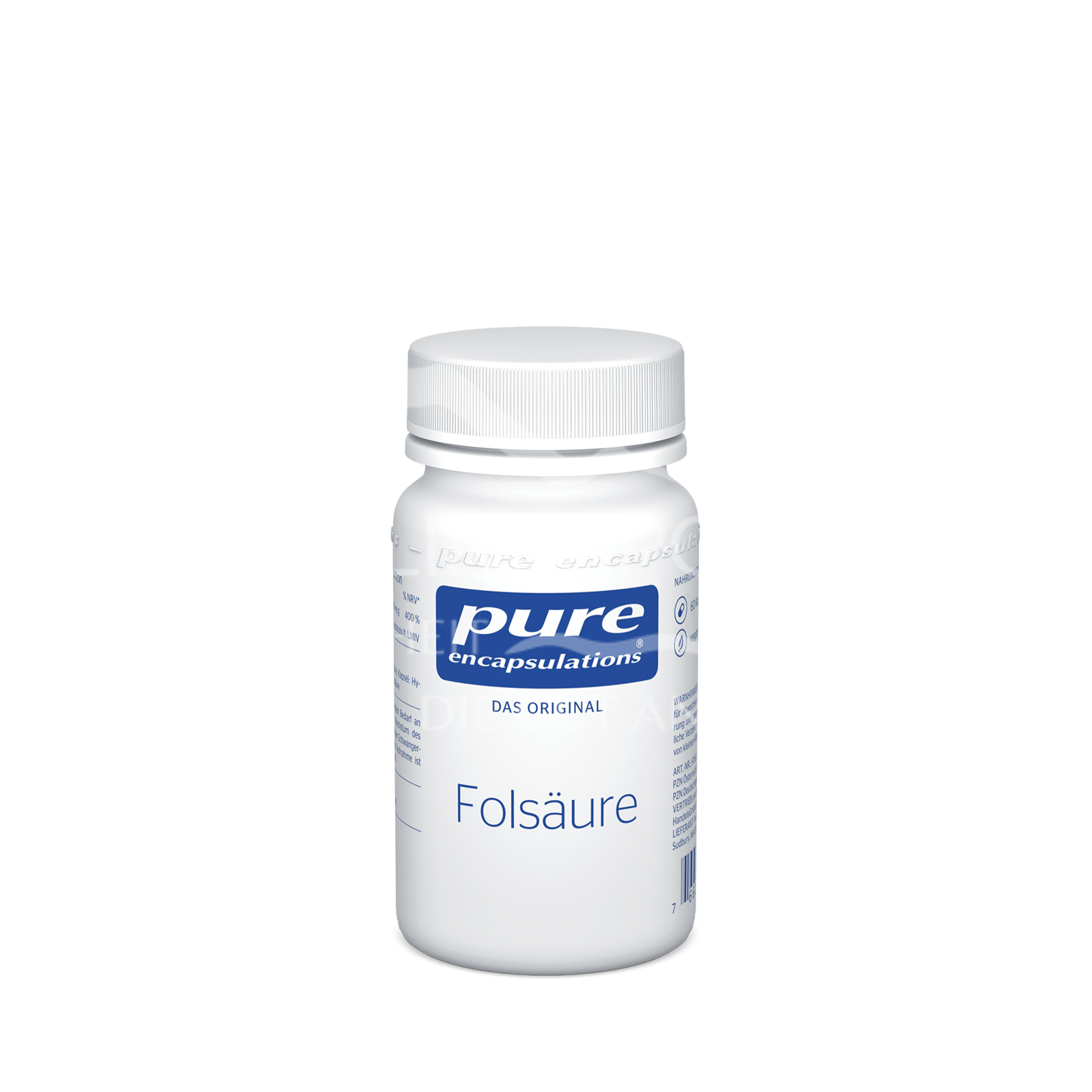 pure encapsulations® Folsäure