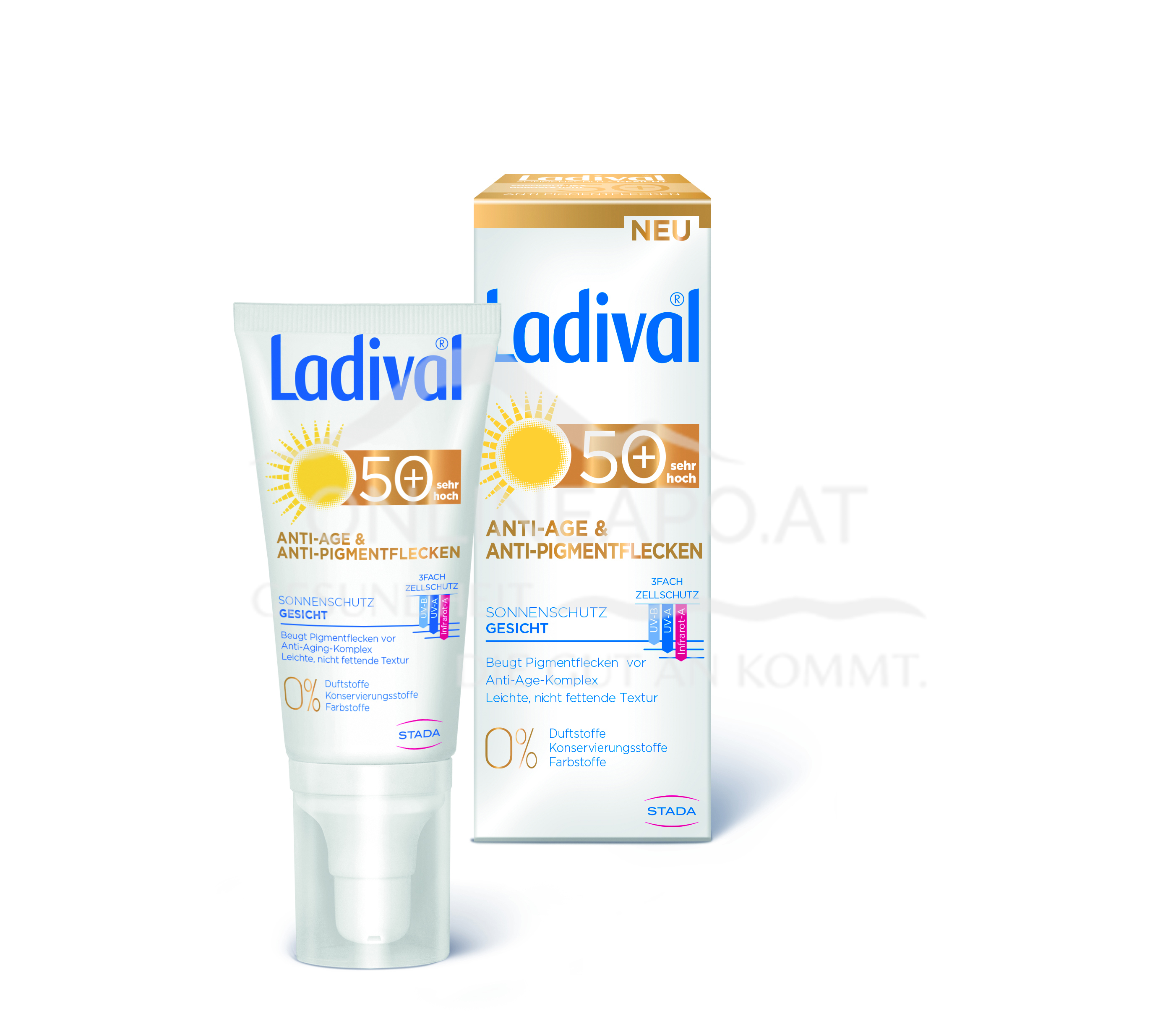 Ladival® Anti-Age & Anti-Pigmentflecken Sonnenschutz Gesicht LSF 50+