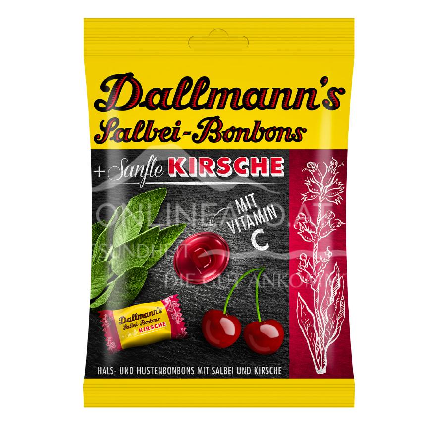 Dallmann Salbei-Sanfte-Kirsche-Bonbons