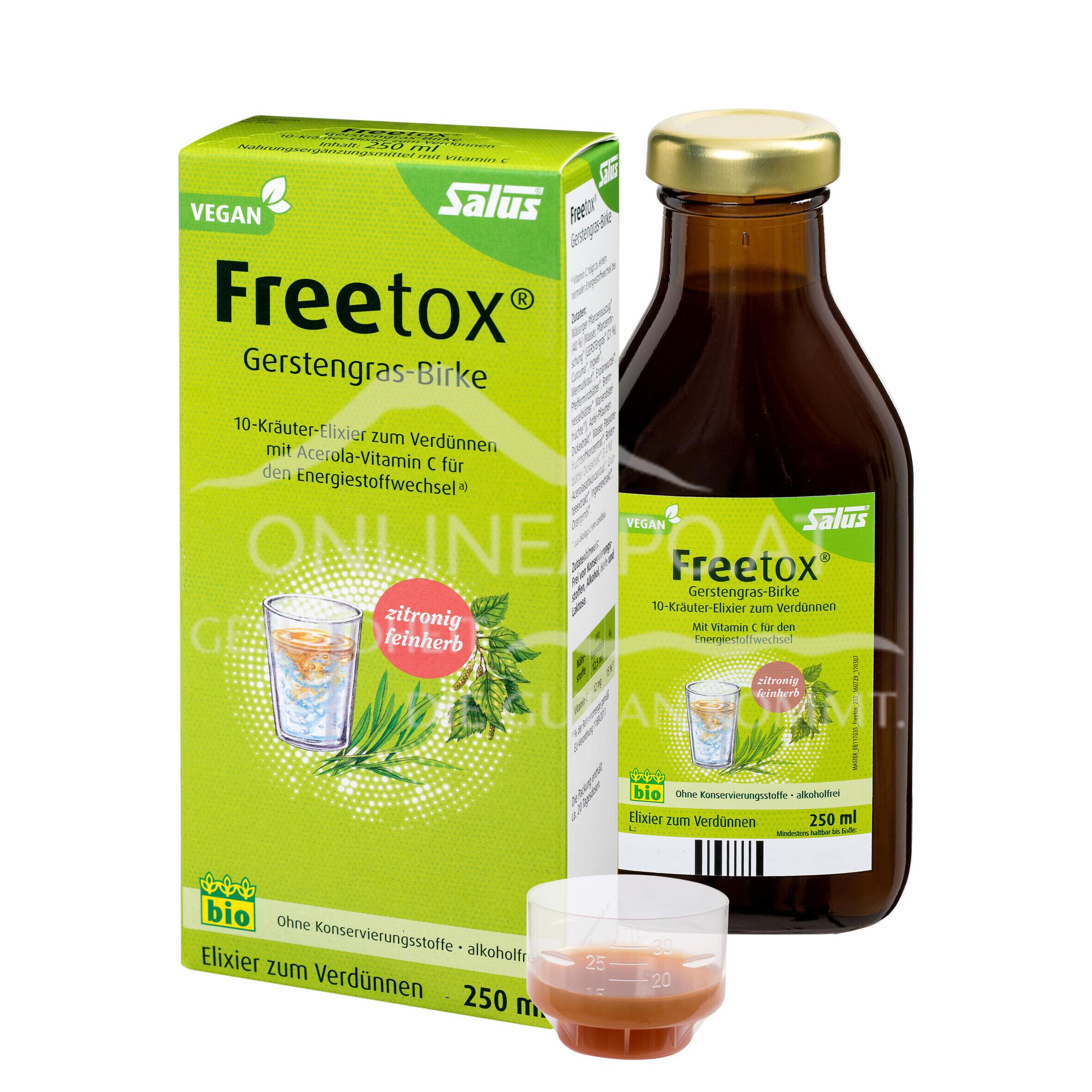 Salus® Freetox® Gerstengras-Birke Elixier